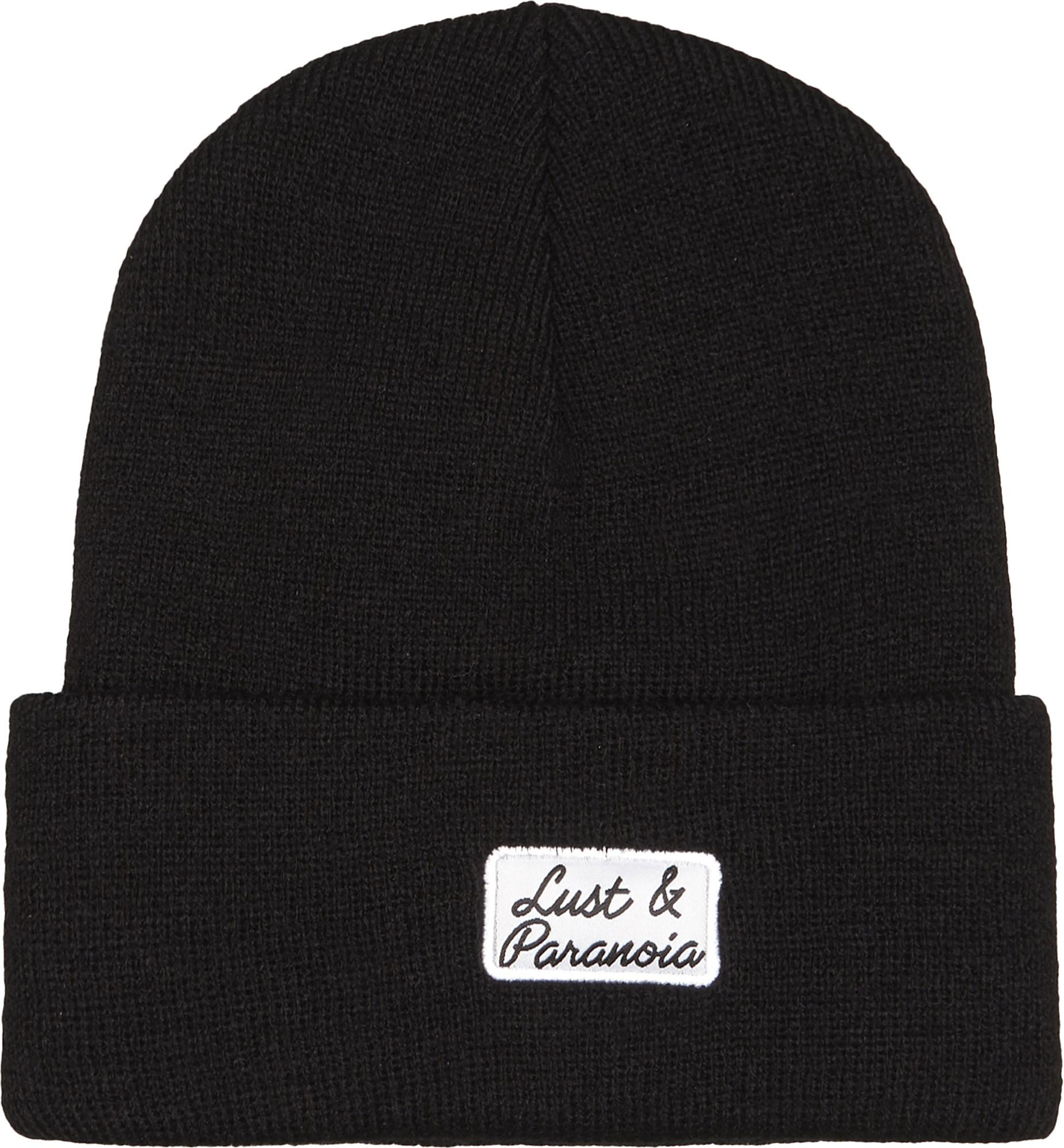 387fb576753 Born X Raised Lust   Paranoia Knitted Beanie in Black for Men - Lyst