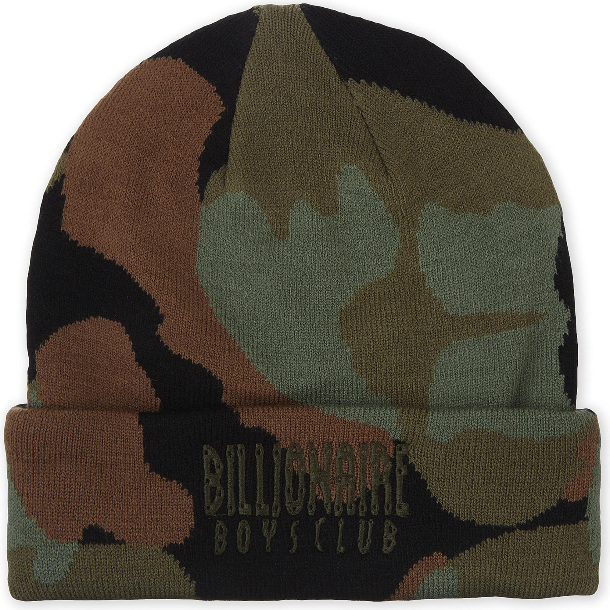 5d66dff8fa9 Lyst - BBCICECREAM Space Camouflage Beanie in Black for Men