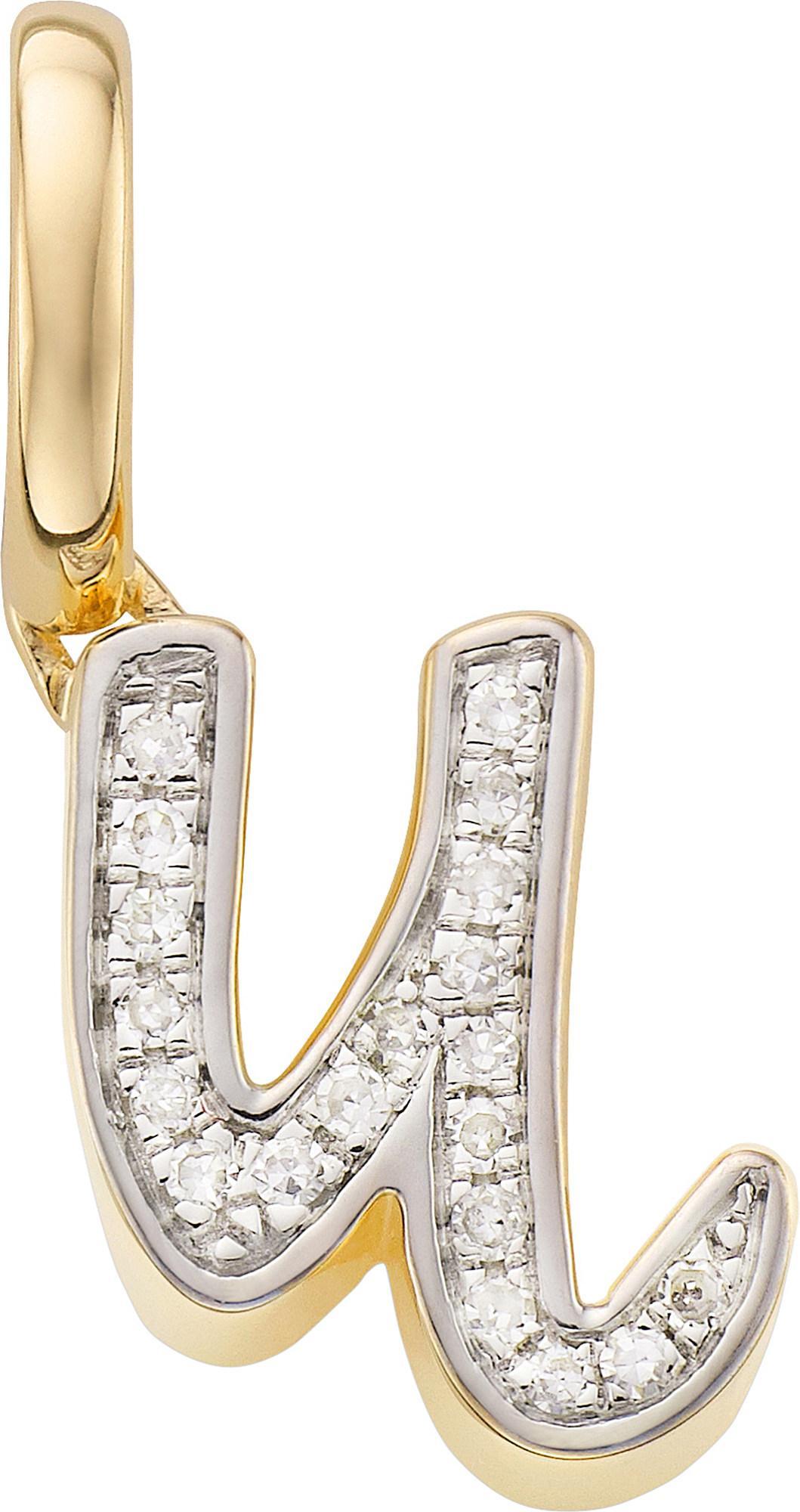 Alphabet Pendant P, Gold Vermeil on Silver Monica Vinader