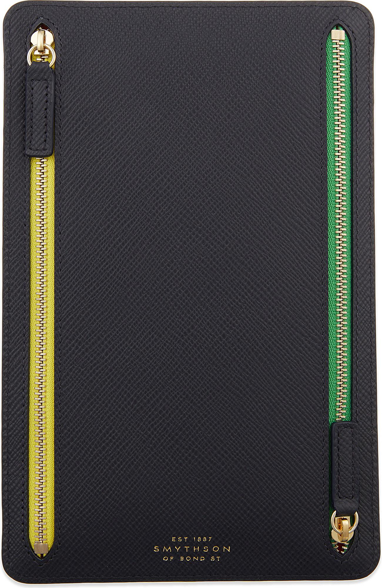 SMYTHSON Panama leather currency case Best Inexpensive Cheap Sale Release Dates Sale Fashionable GFr7Hch