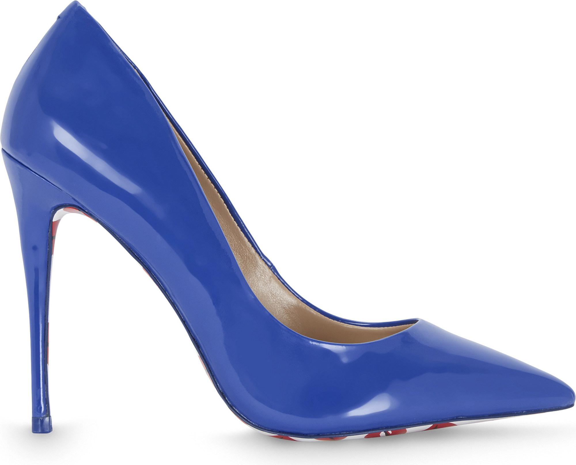 cf12db2ff7c3 Lyst - ALDO Stessy K Patent Courts in Blue