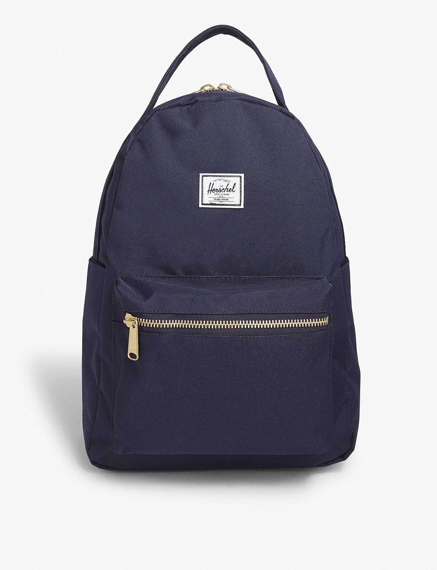 bd6c2c2ade Herschel Supply Co. . Peacoat Dark Blue Nova Backpack in Blue - Lyst
