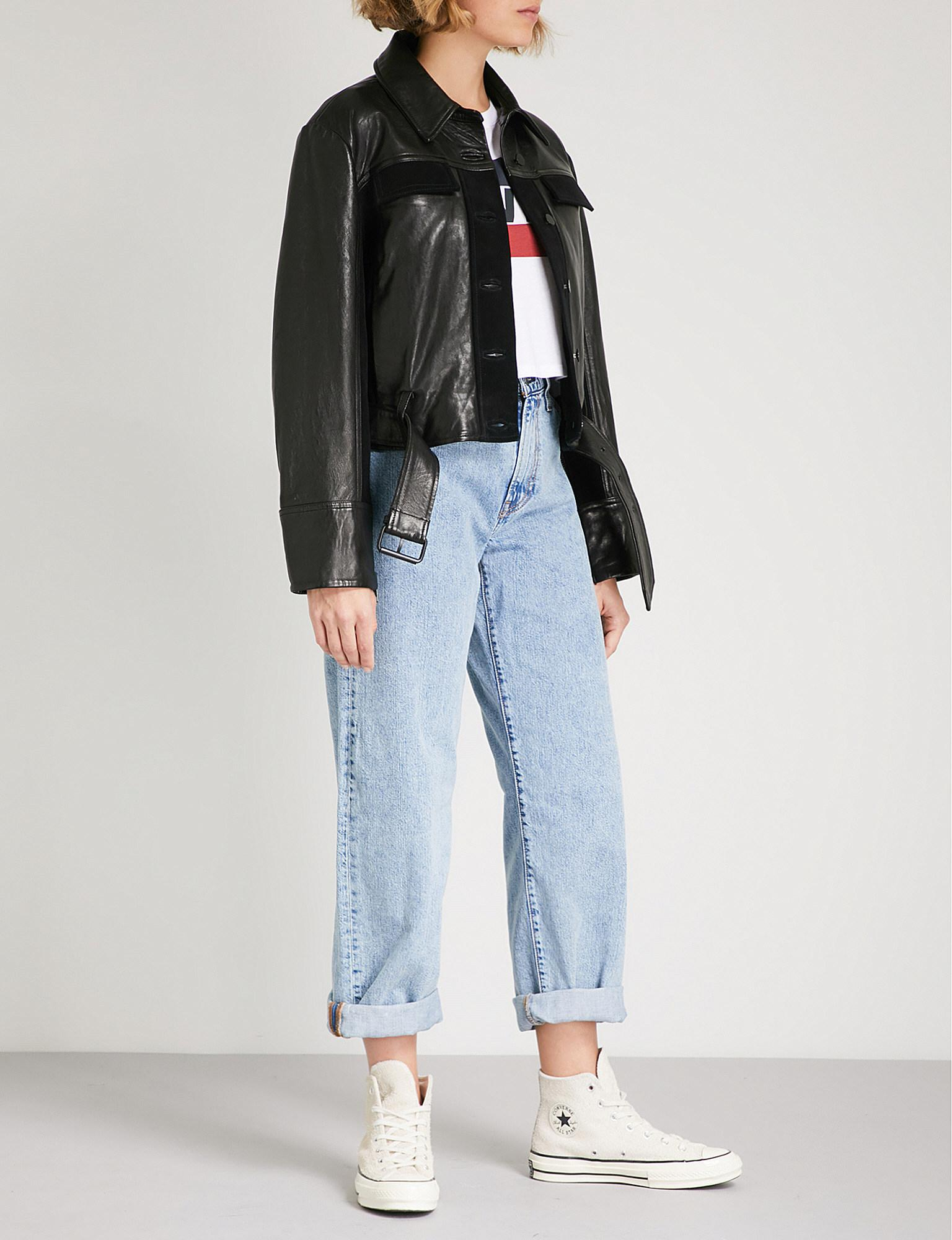 f755cb74 Levi's Big Baggy Wide-fit Straight High-rise Jeans - Lyst