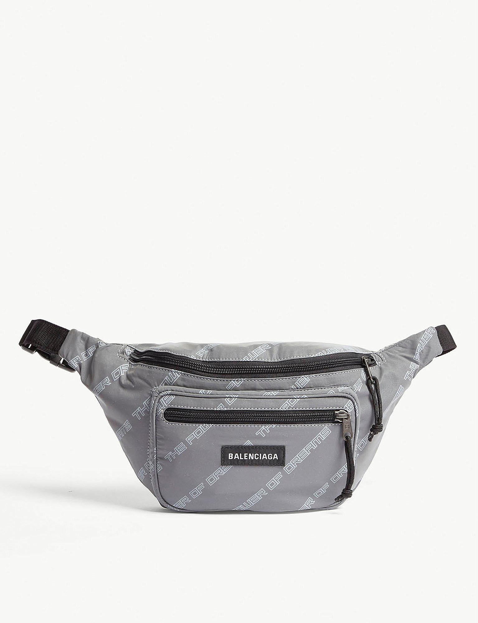 balenciaga reflective grey