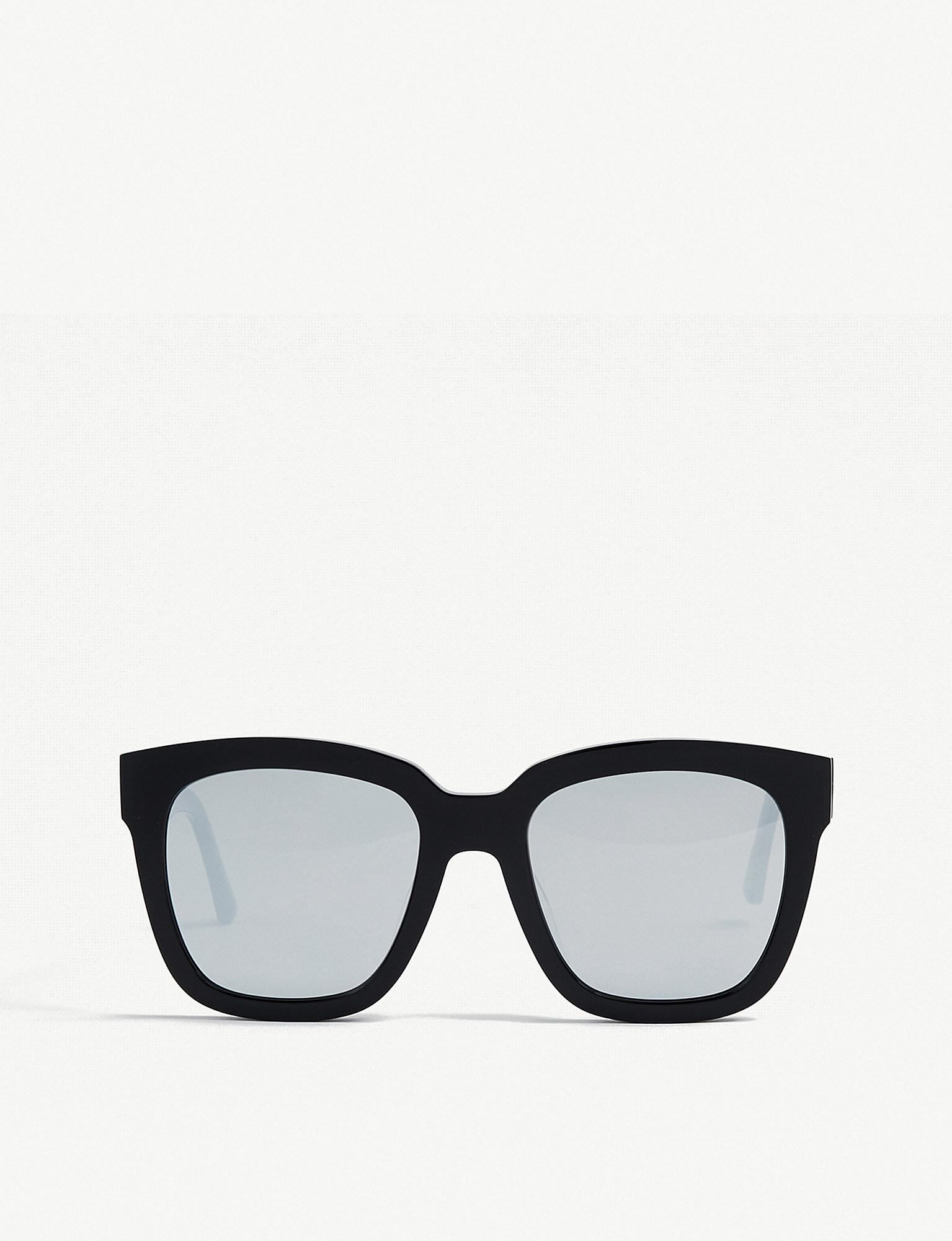 e8bc586692 Gentle Monster Dreamer Hoff Mirrored Acetate Sunglasses in Black - Lyst