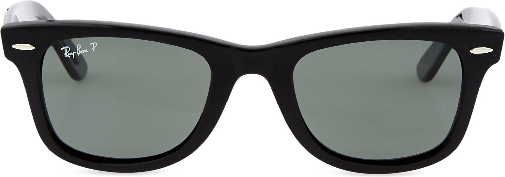 3c6380fce8 Lyst - Ray-Ban Black Thick Frame Wayfarer Sunglasses Rb2140 in Black