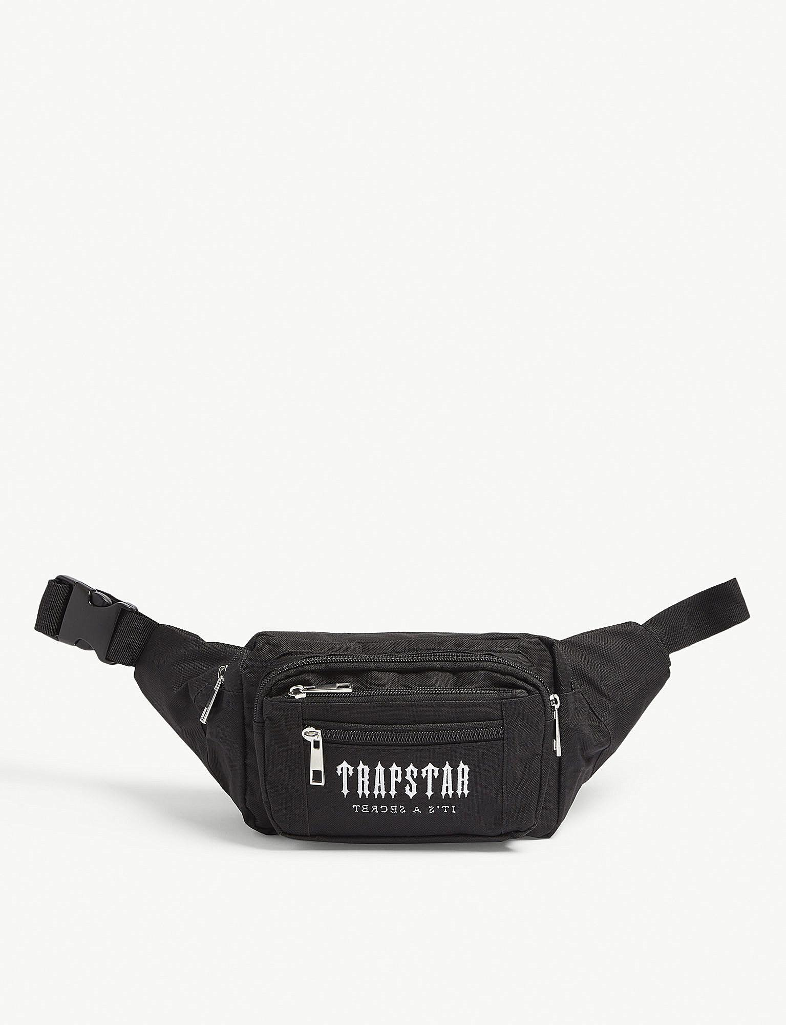 44e5a79a9 Trapstar Embroidered Belt Bag in Black for Men - Lyst