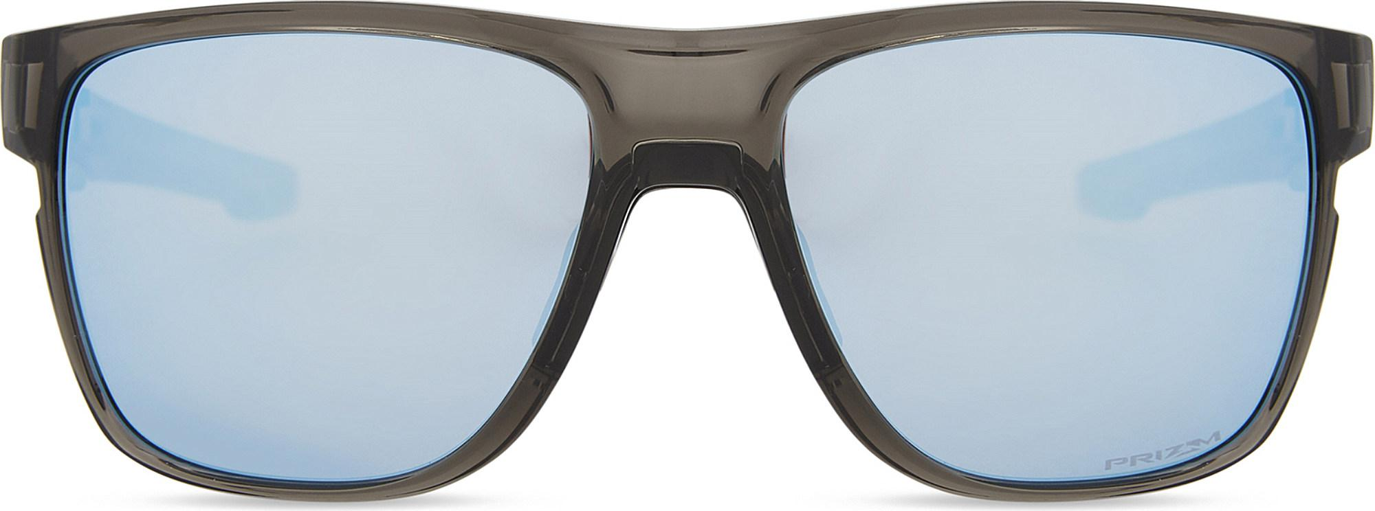 a525fcf551a Oakley - Gray Crossrange Xl Prizmtm Deep Water Polarised Square-frame  Sunglasses - Lyst. View fullscreen