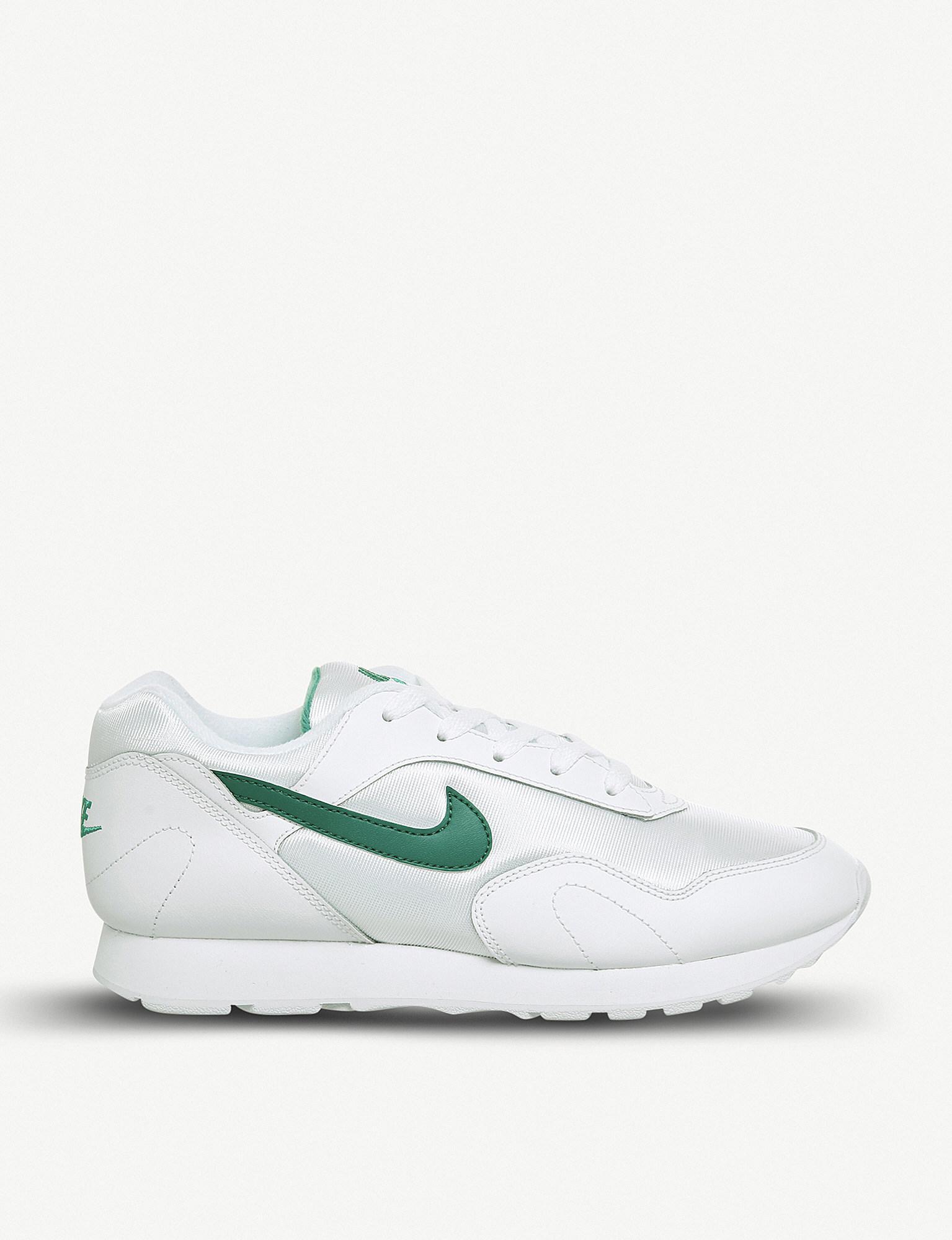 Nike Sportswear OUTBURST - Trainers - white/light retro/black AZ7LGiy
