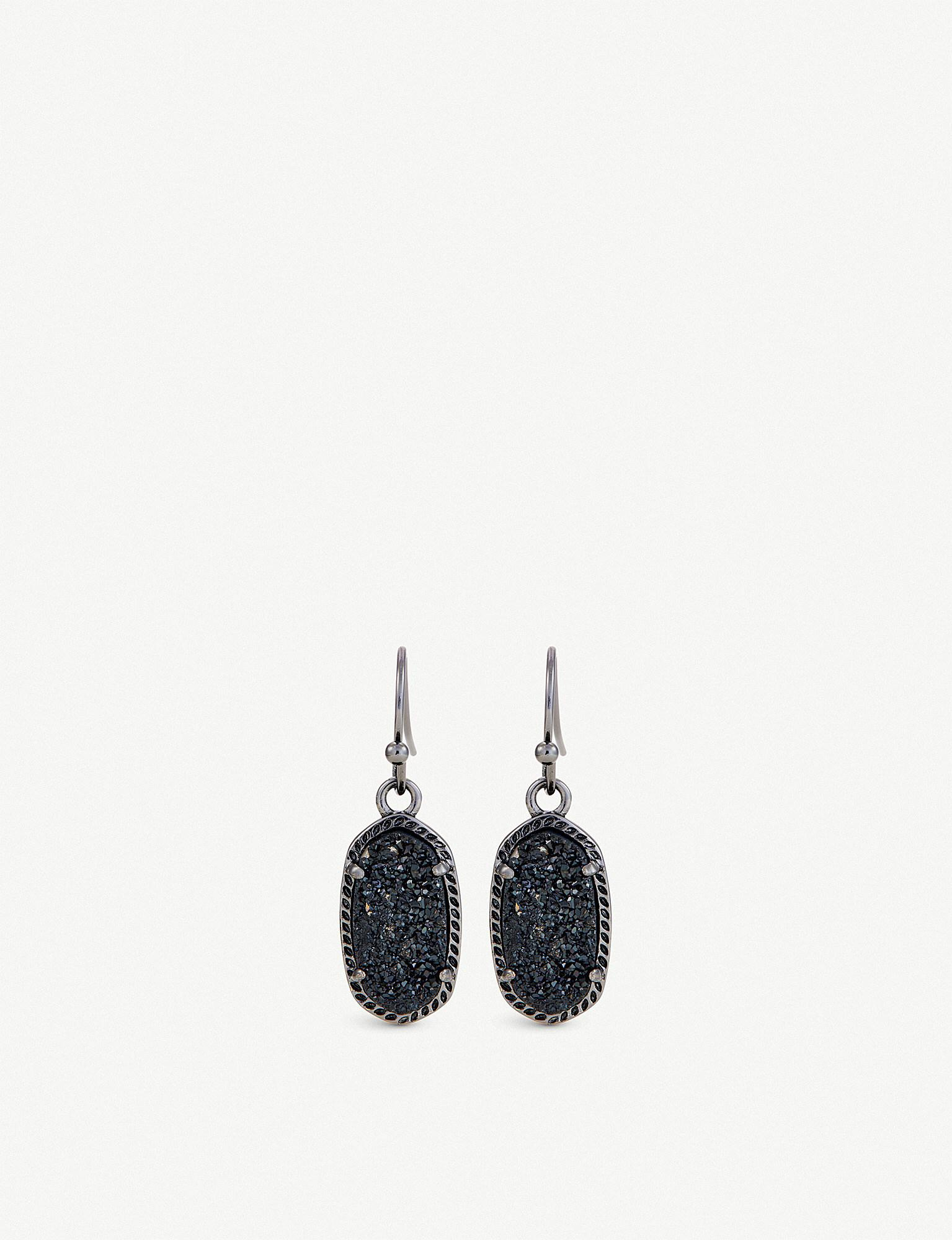 earrings gunmetal products jewelry caviar noir glitzy