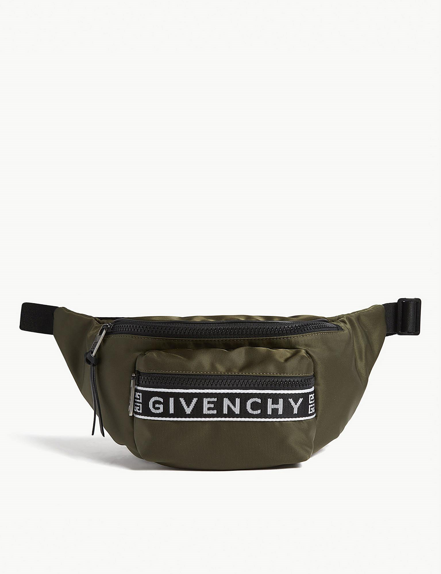 36cd17a067 Lyst - Givenchy Light3 Nylon Belt Bag in Black for Men