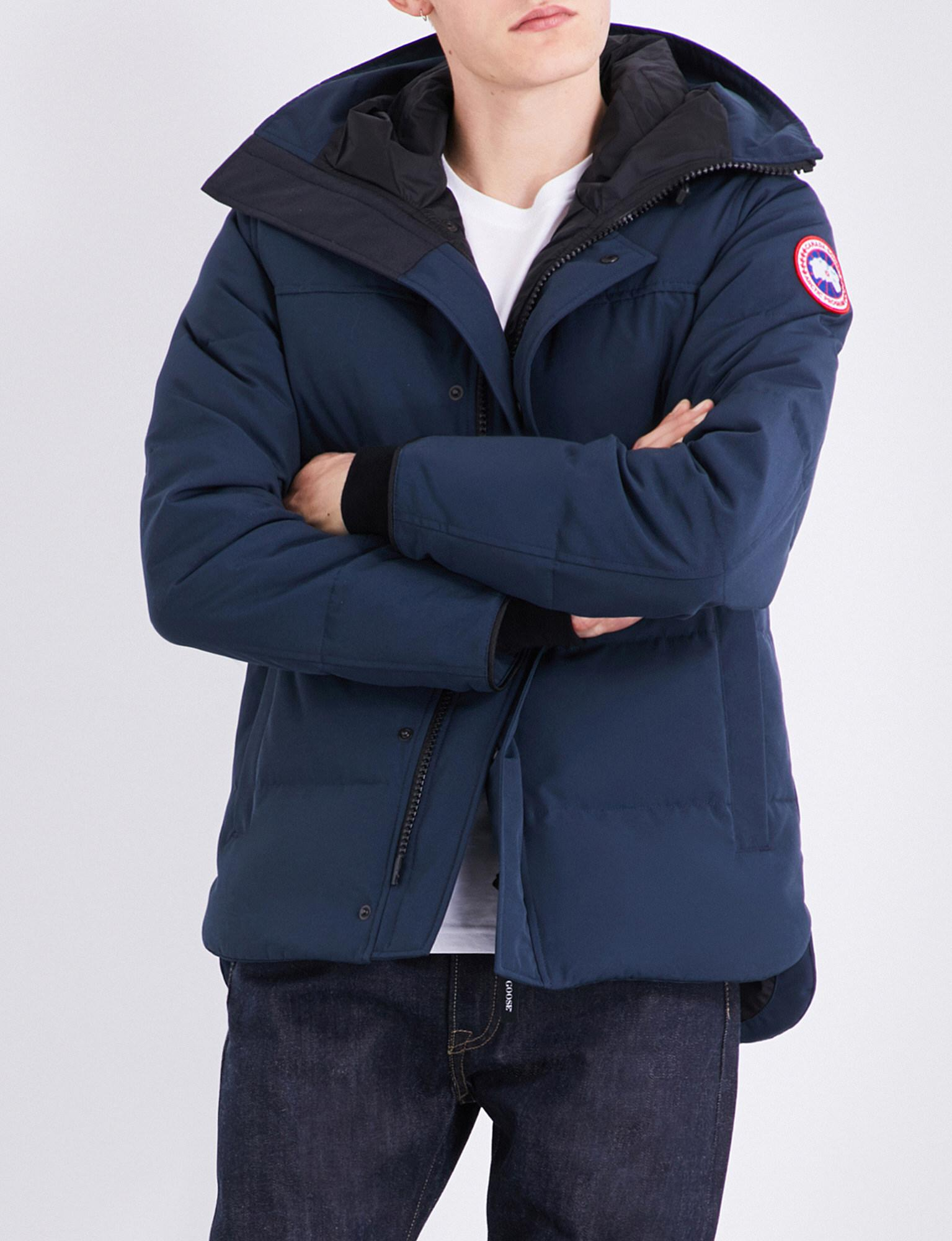 741c079d4cc Canada Goose Blue Macmillan Quilted Shell Parka for men