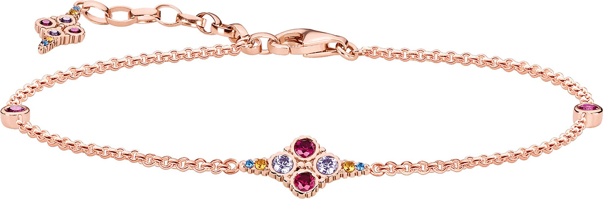 f421e82e7 Thomas Sabo Royalty 18ct Rose Gold-plated Bracelet in Metallic - Lyst