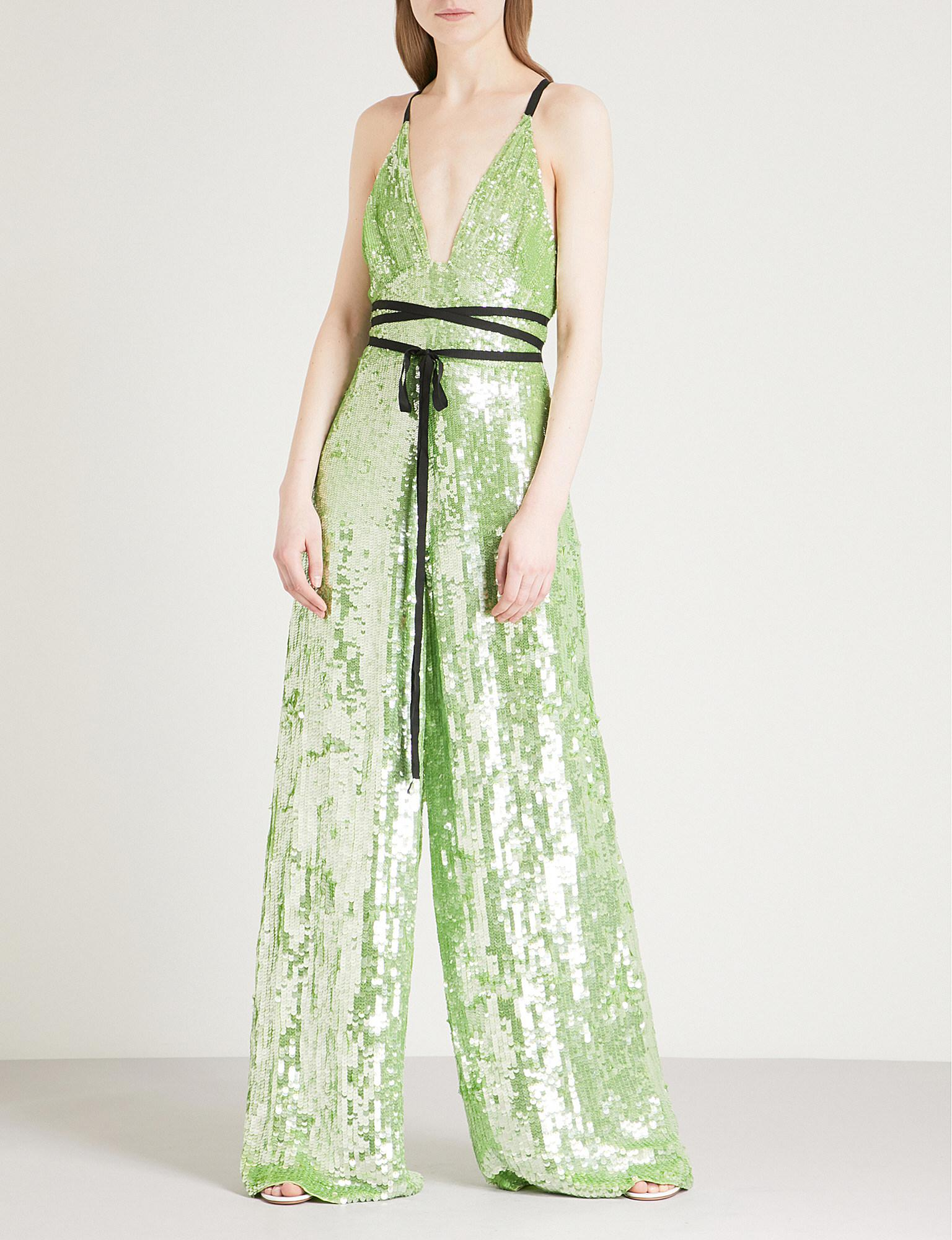 Outlet Big Discount Bardot jumpsuit - Green Temperley London Shipping Outlet Store Online hPFrr