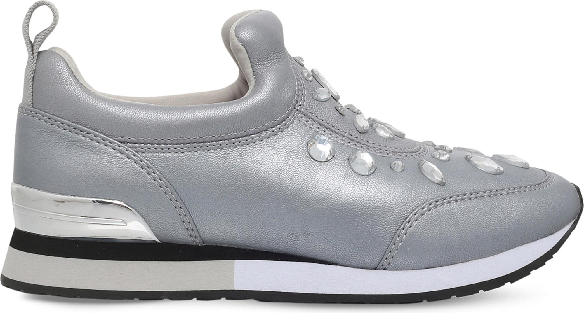 Footlocker Cheap Online Lowest Price For Sale Tory Burch Woman Laney Crystal-embellished Leather Slip-on Sneakers White Size 10 Tory Burch Where To Buy Low Price muC0ma8