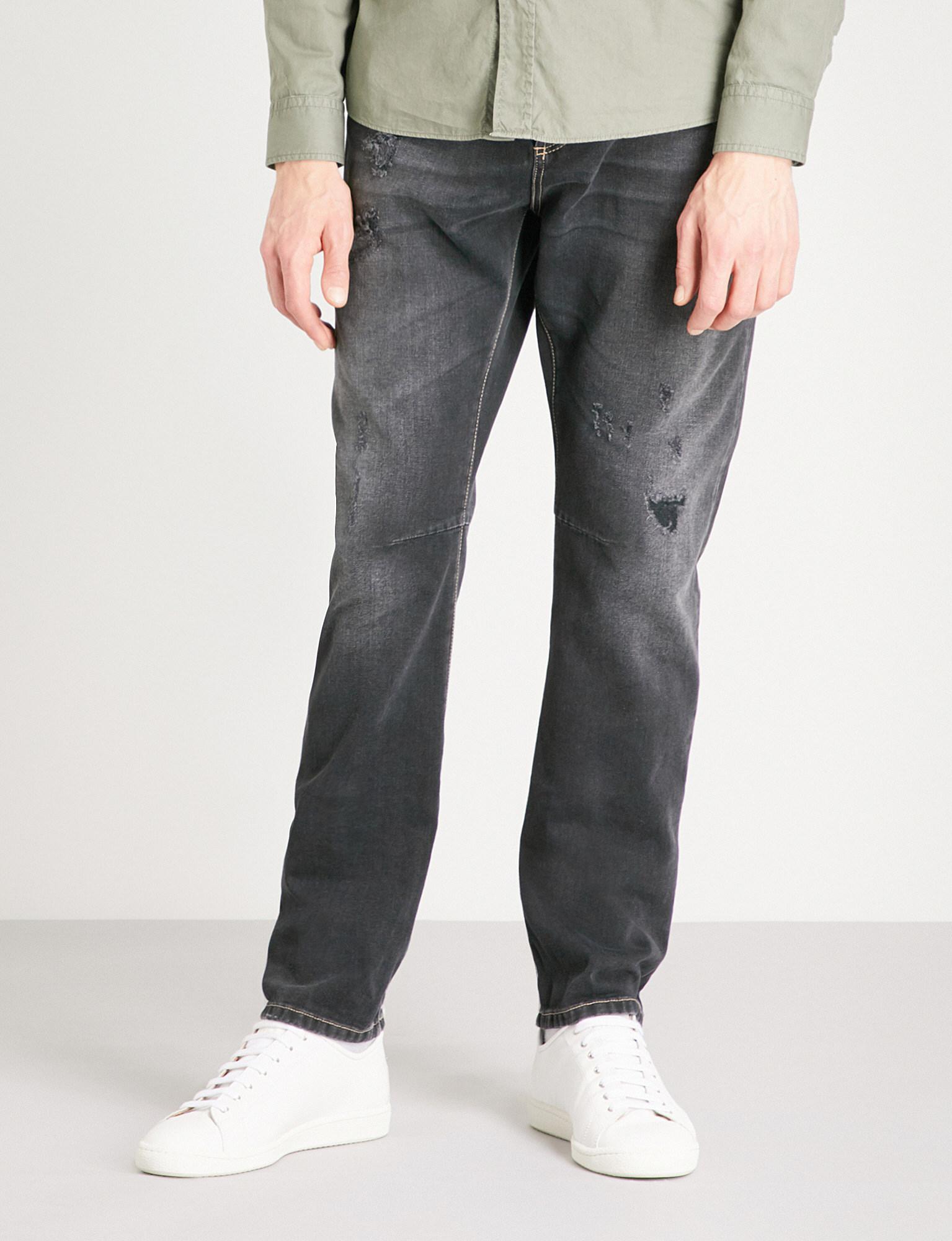 Jeans Traditional Fit dark grey Brunello Cucinelli paBlPktv