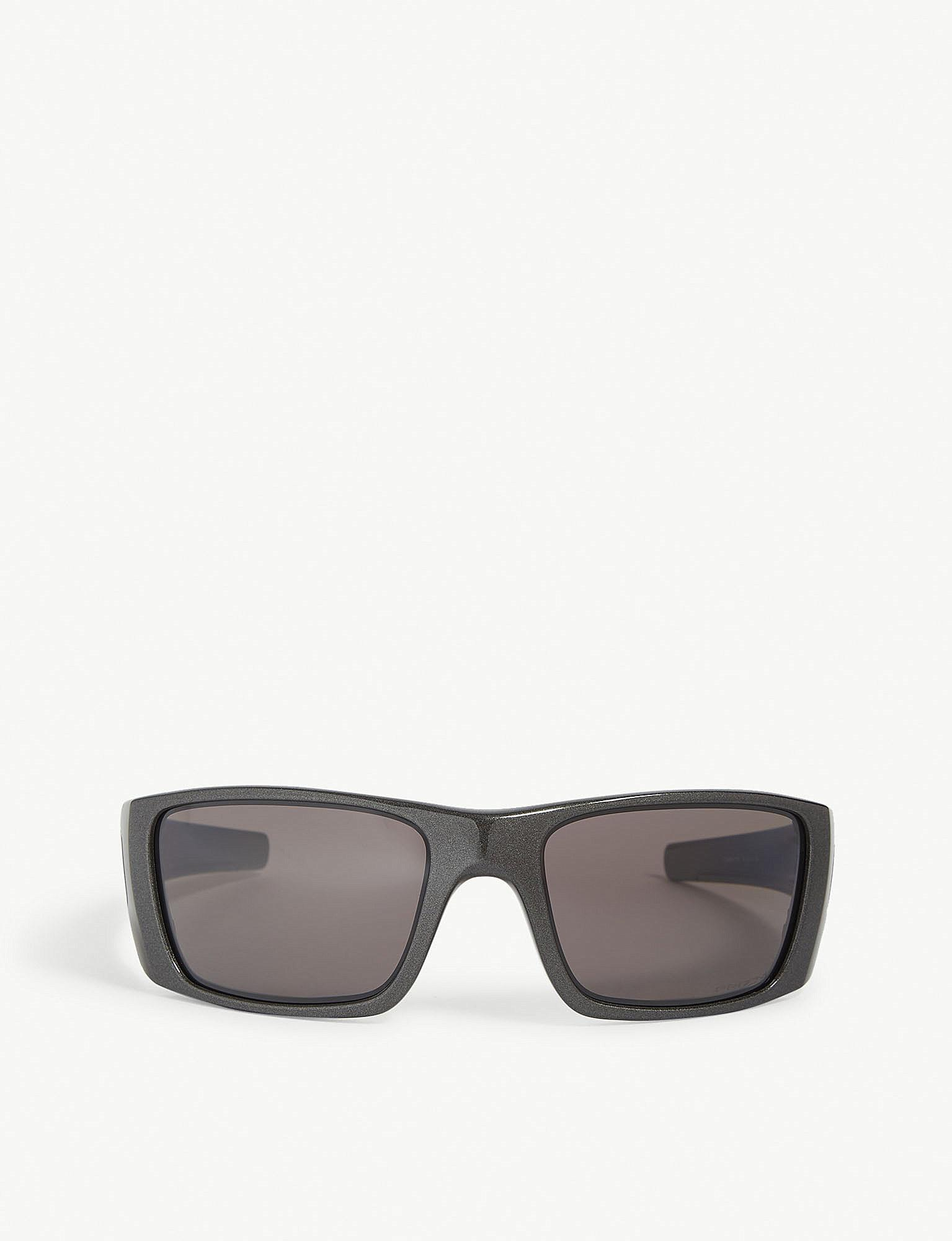 Lyst - Oakley Fuel Cell Rectangle-frame Sunglasses in Gray