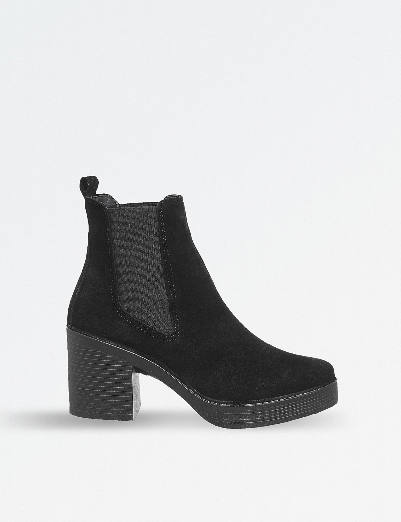 720c3287eef Office Alesha Suede Chelsea Boots in Black - Lyst