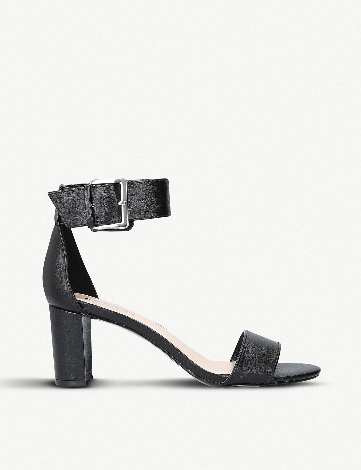 Nine West Playdown Faux-leather Sandals