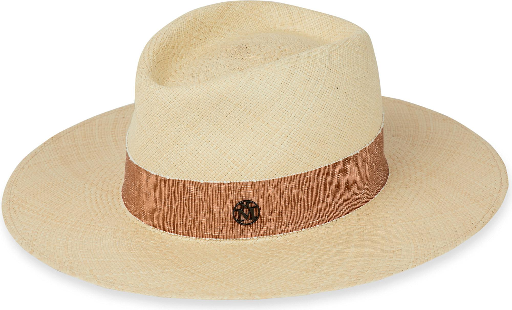 Lyst - Maison Michel Charles Cuenca Panama Straw Hat in Natural for Men 36e03c314ea