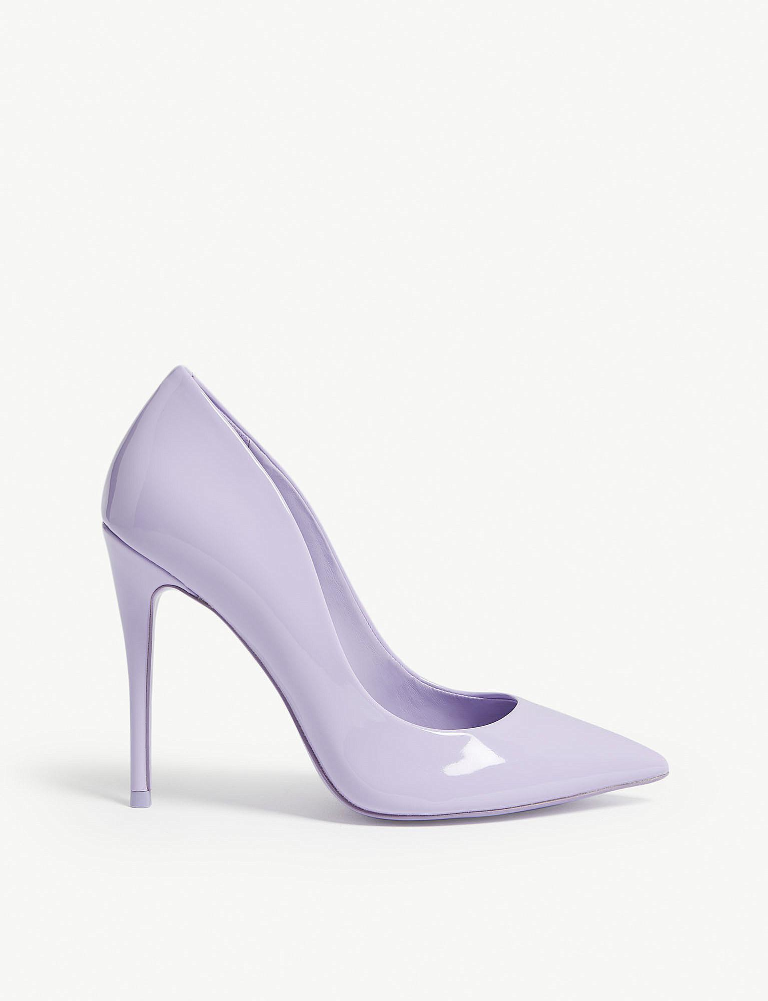 495c040b4e8c Lyst - ALDO Stessy Patent Courts in Purple