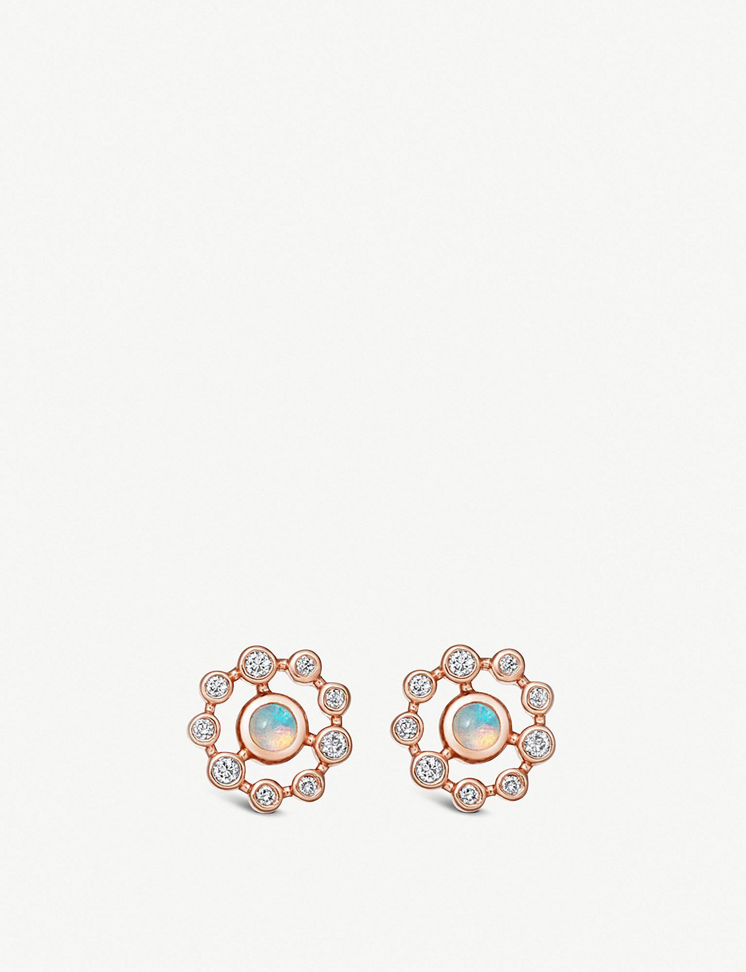 67858ef86da87 Lyst - Astley Clarke Icon Nova Opal Earrings in Metallic - Save 8%