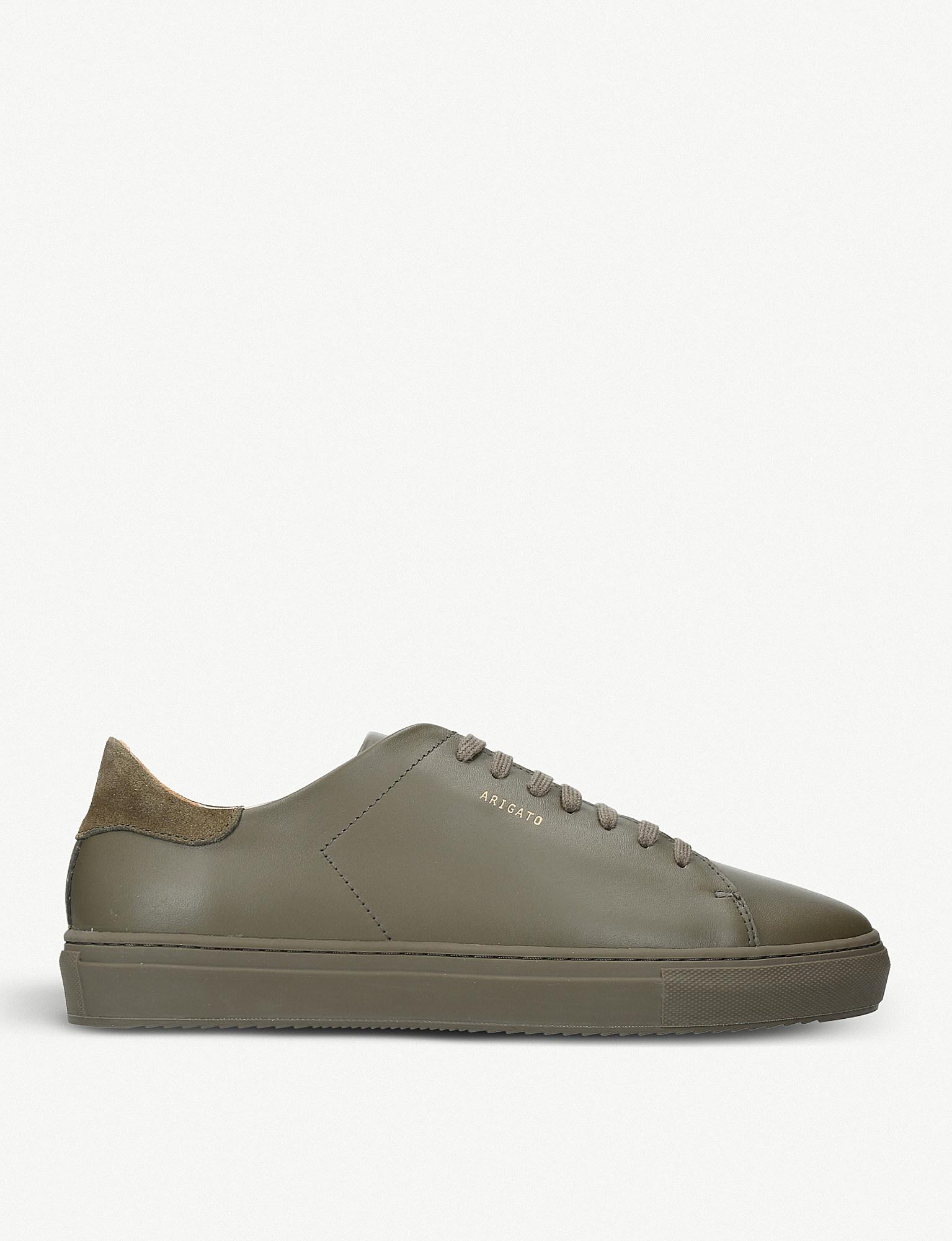 Axel Arigato CLEAN 90 BRUSHED LEATHER SNEAKERS WVMeR