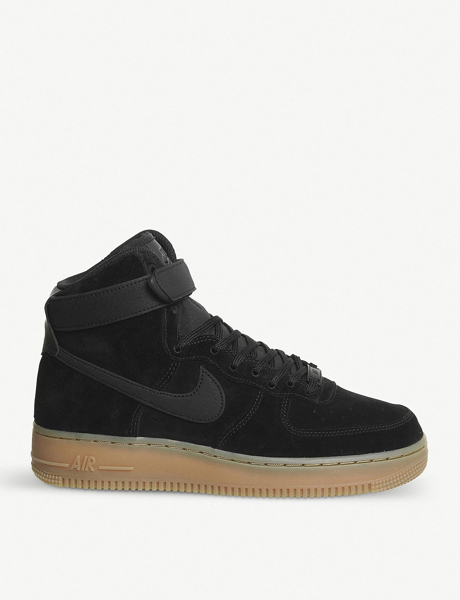 nike air force 1 gum sole junior