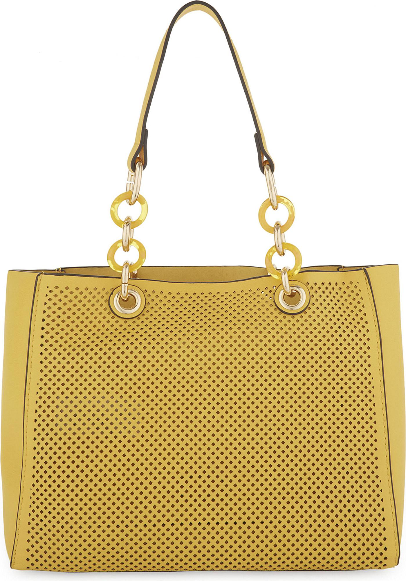 165e8442000 ALDO Werlinger Faux-leather Tote in Yellow - Lyst