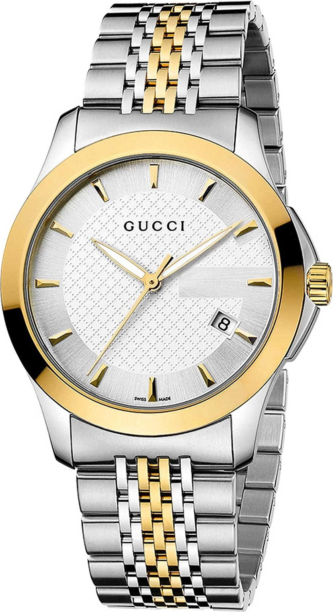 acaa9703936 Lyst - Gucci Ya126409 G-timeless Collection Stainless Steel And ...