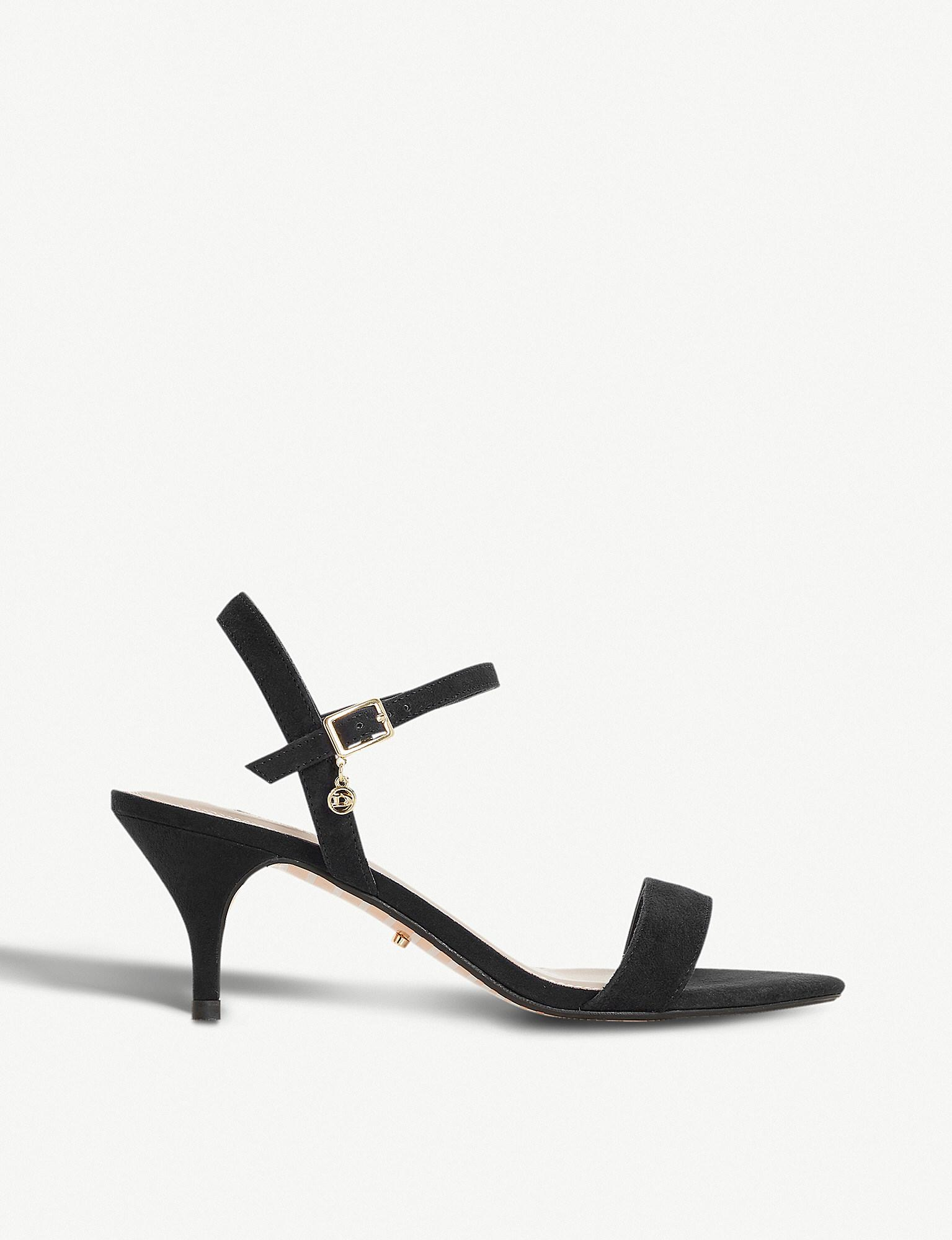 Dune Monnrow Strappy Suede Sandals in