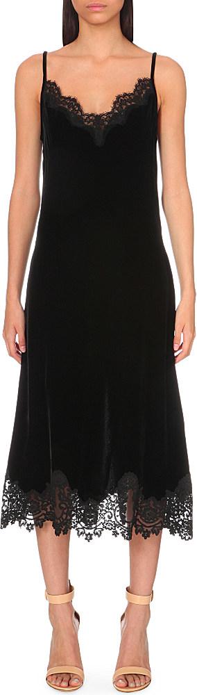 Daydream Velvet Dress