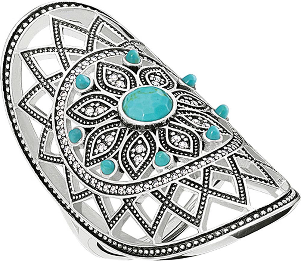 thomas sabo dreamcatcher sterling silver ring in. Black Bedroom Furniture Sets. Home Design Ideas