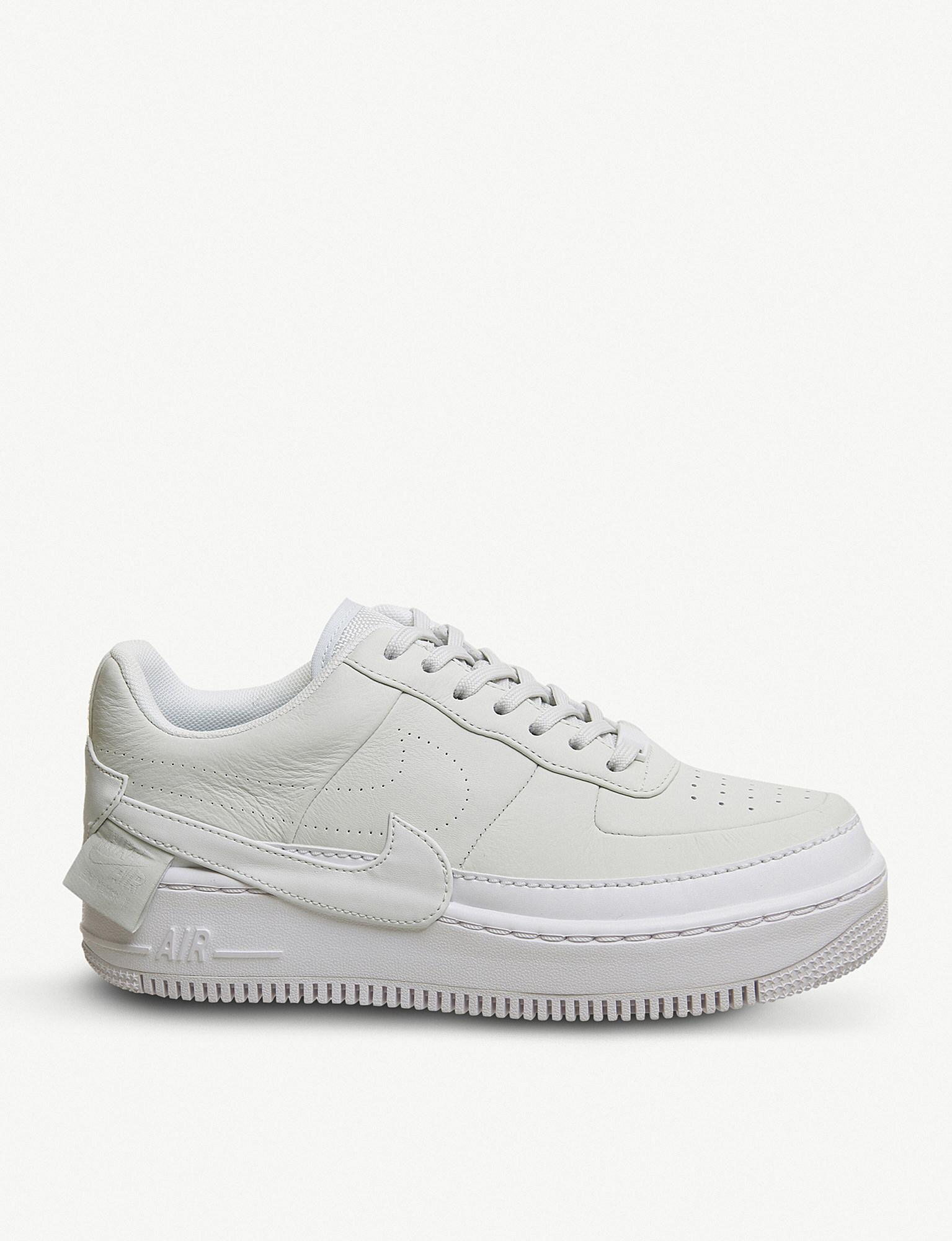f82b854e66aea Lyst - Nike Air Force 1 Jester Xx Leather Trainer in White