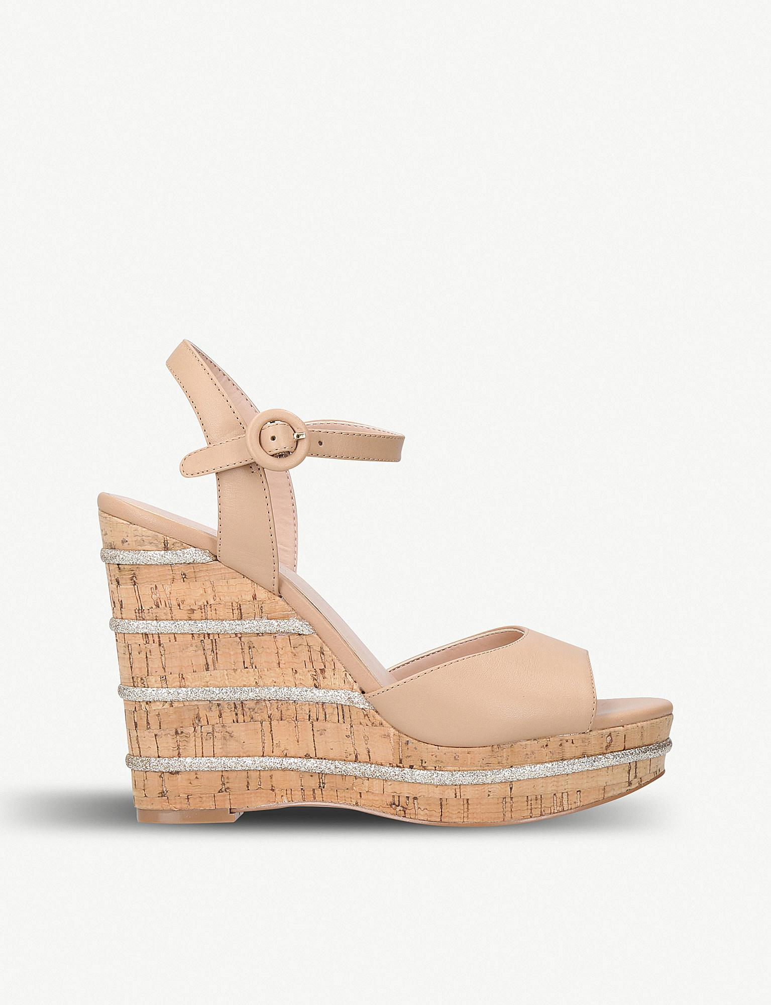 Buy Online Cheap Get To Buy For Sale Kurt Geiger Ally Wedge Heel Sandals lVMqwsh