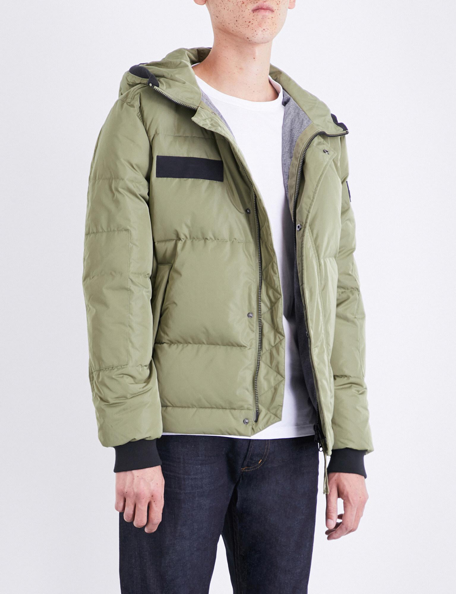 5ea894aaae7e0 True Religion Hooded Quilted Shell Down Jacket in Green for Men - Lyst