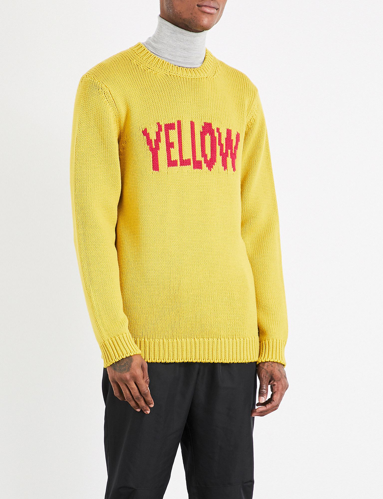 TWO TONE FFAMILY WOOL INTARSIA SWEATER Best Supplier Clearance Low Price Fee Shipping Release Dates Sale Online Perfect Cheap Online rMXZo