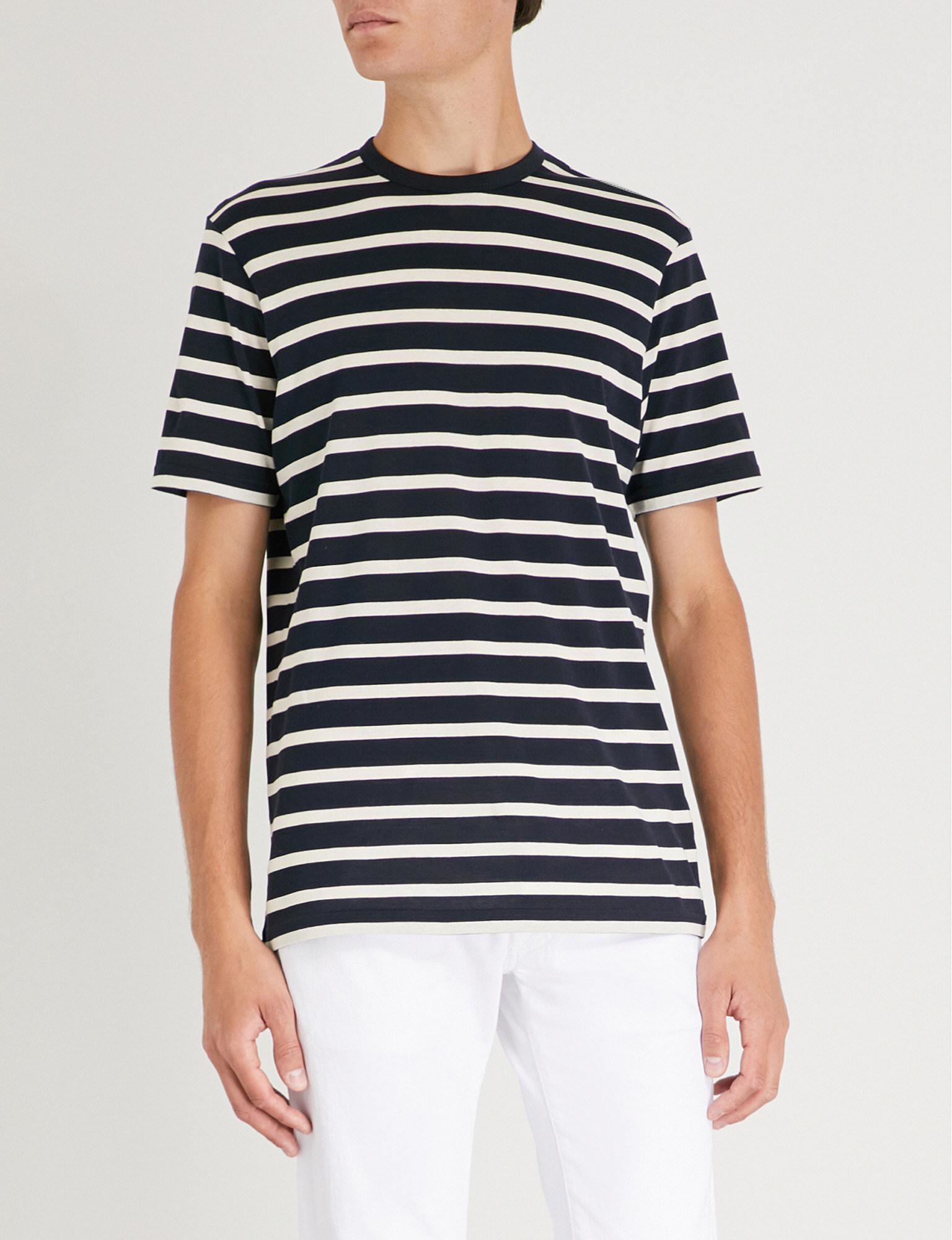 f5a9ffebd3d Sunspel Classic Cotton-jersey T-shirt in Blue for Men - Lyst