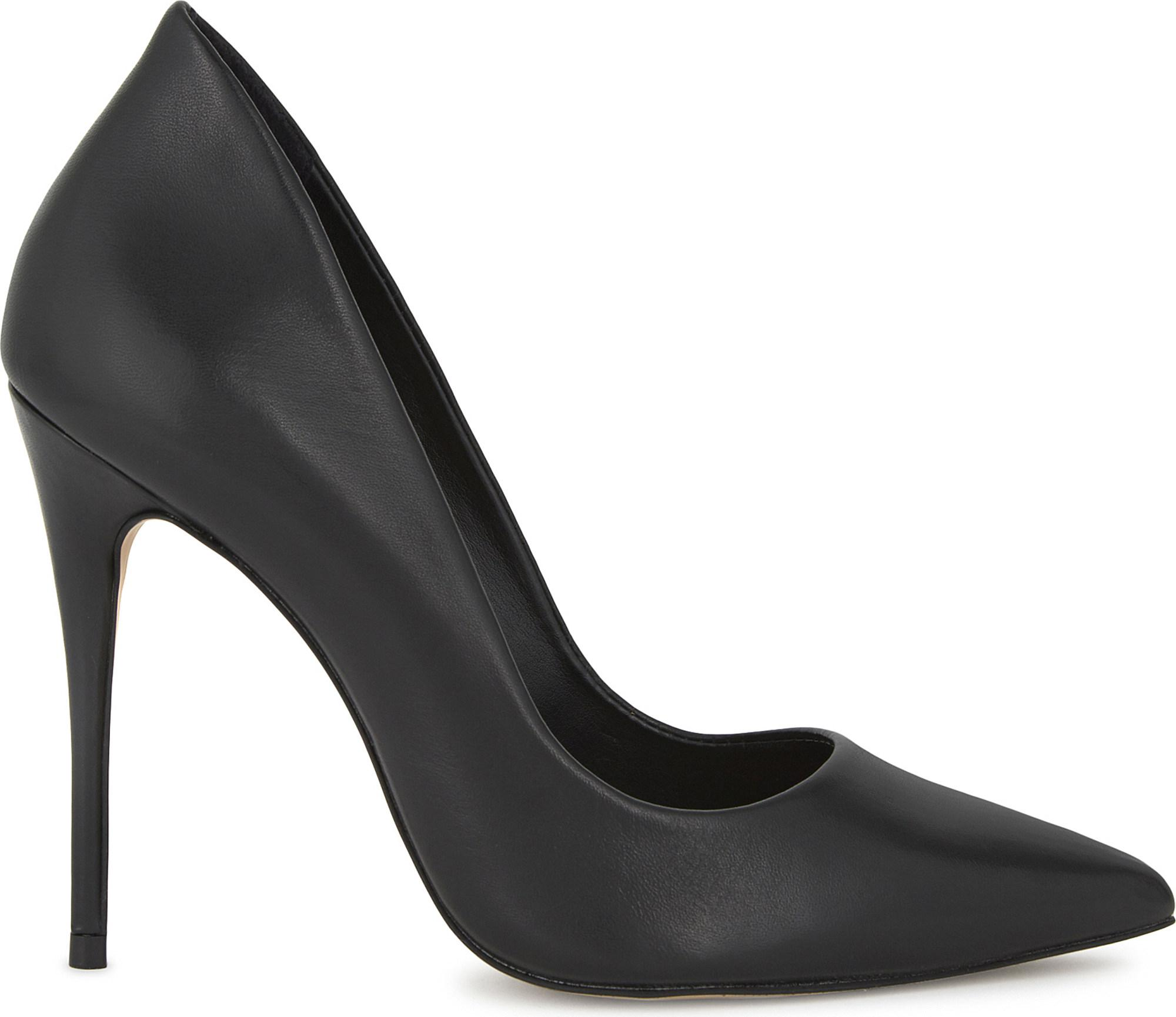 4eac73b57a0 Lyst - ALDO Cassedy Leather Courts in Black