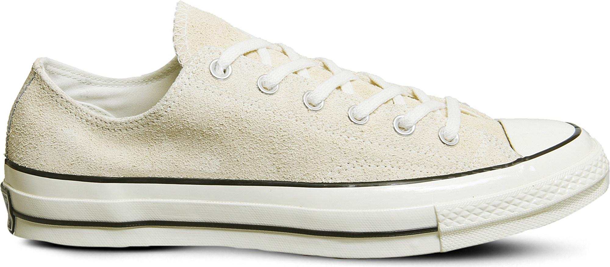 fe62ea0966bf Lyst - Converse All Star Ox 70 s Suede Low-top Trainers in White for Men