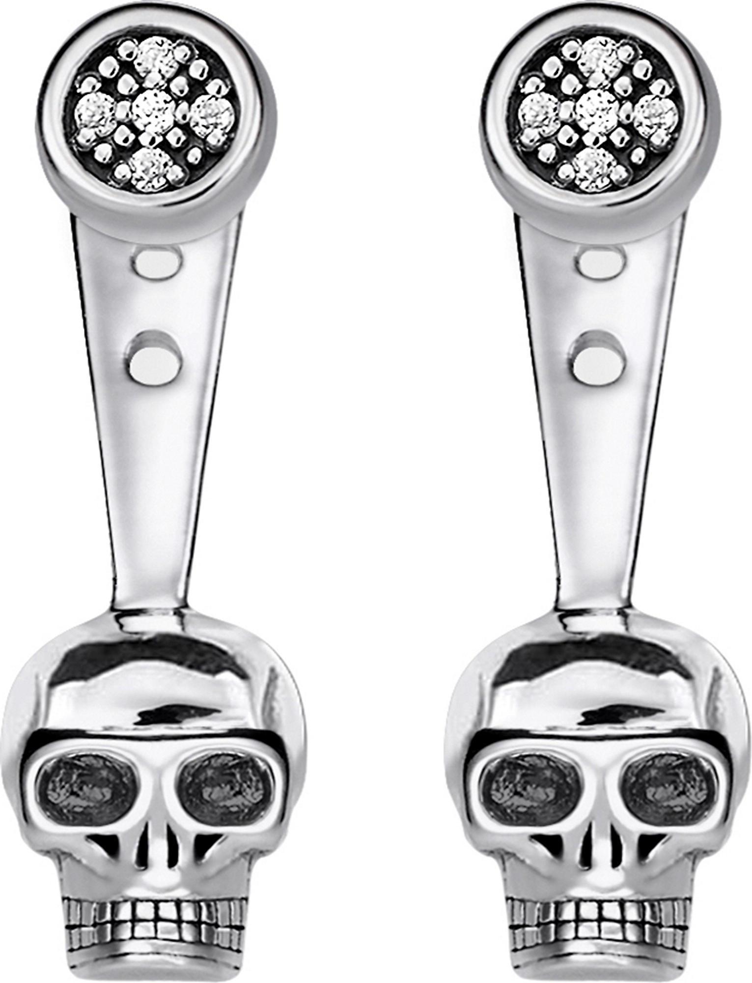 f6a31838d Thomas Sabo Rebel At Heart Skull Sterling Silver Diamond Ear Jackets ...
