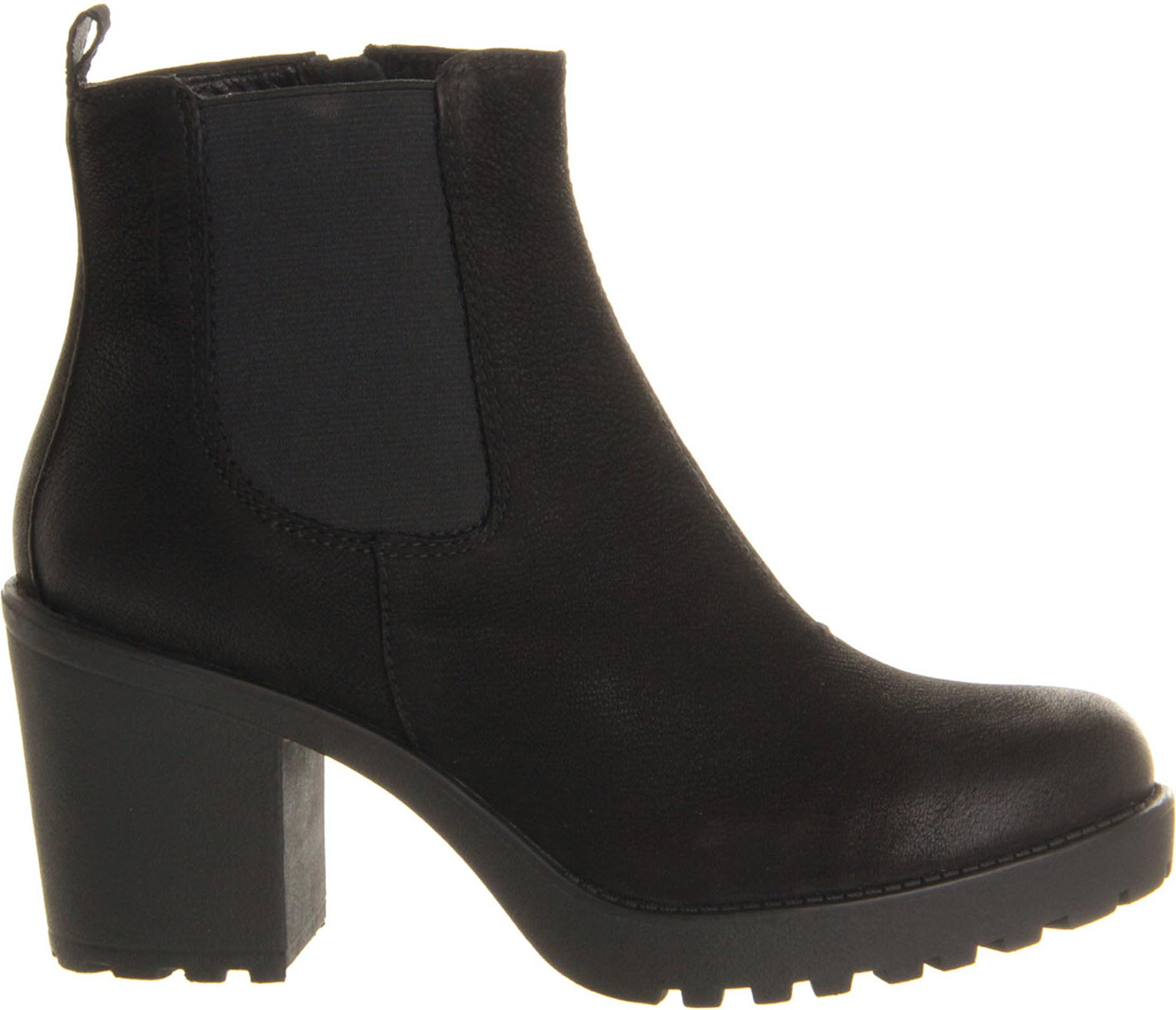 d717269d563d Lyst - Vagabond Grace Heeled Leather Chelsea Boot in Black - Save 4%
