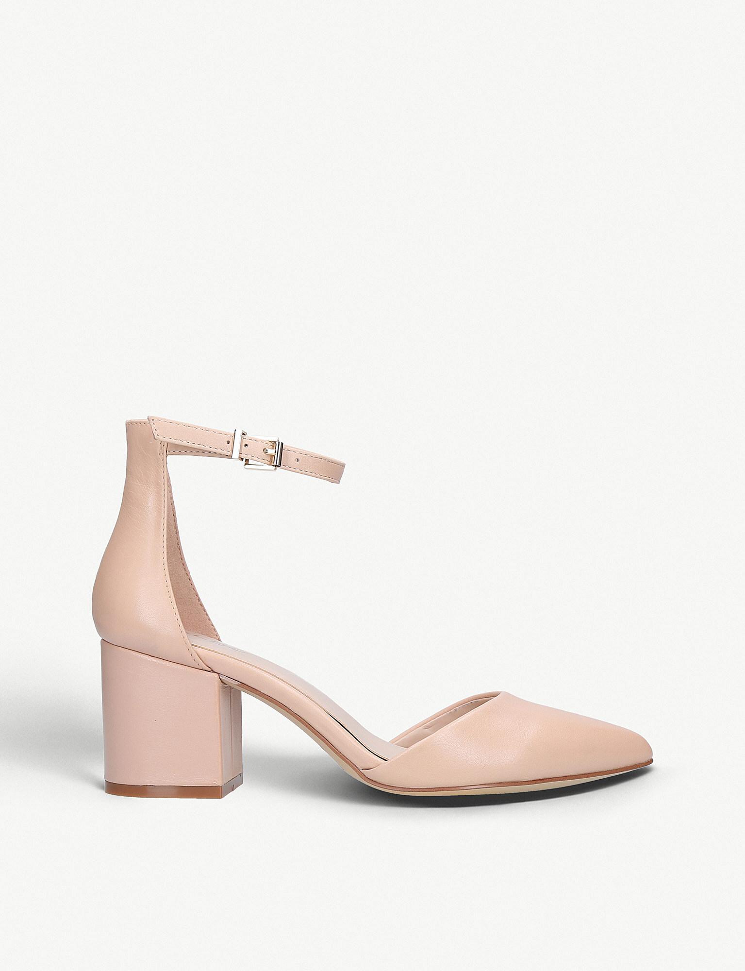c2e6c1ccf8a ALDO Keclya Leather Sandals in Pink - Lyst