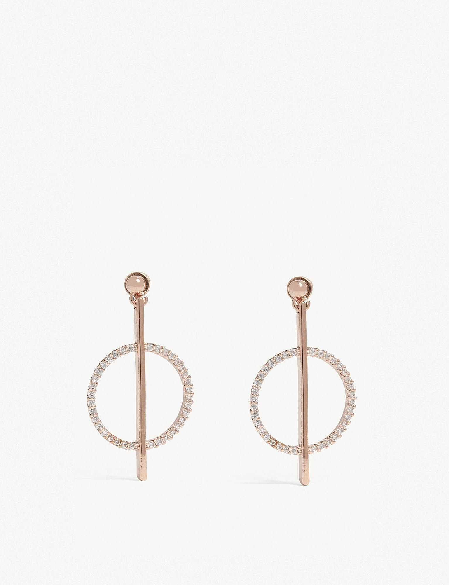 81ba65010 Lyst - Astrid & Miyu Venus Earrings in Metallic