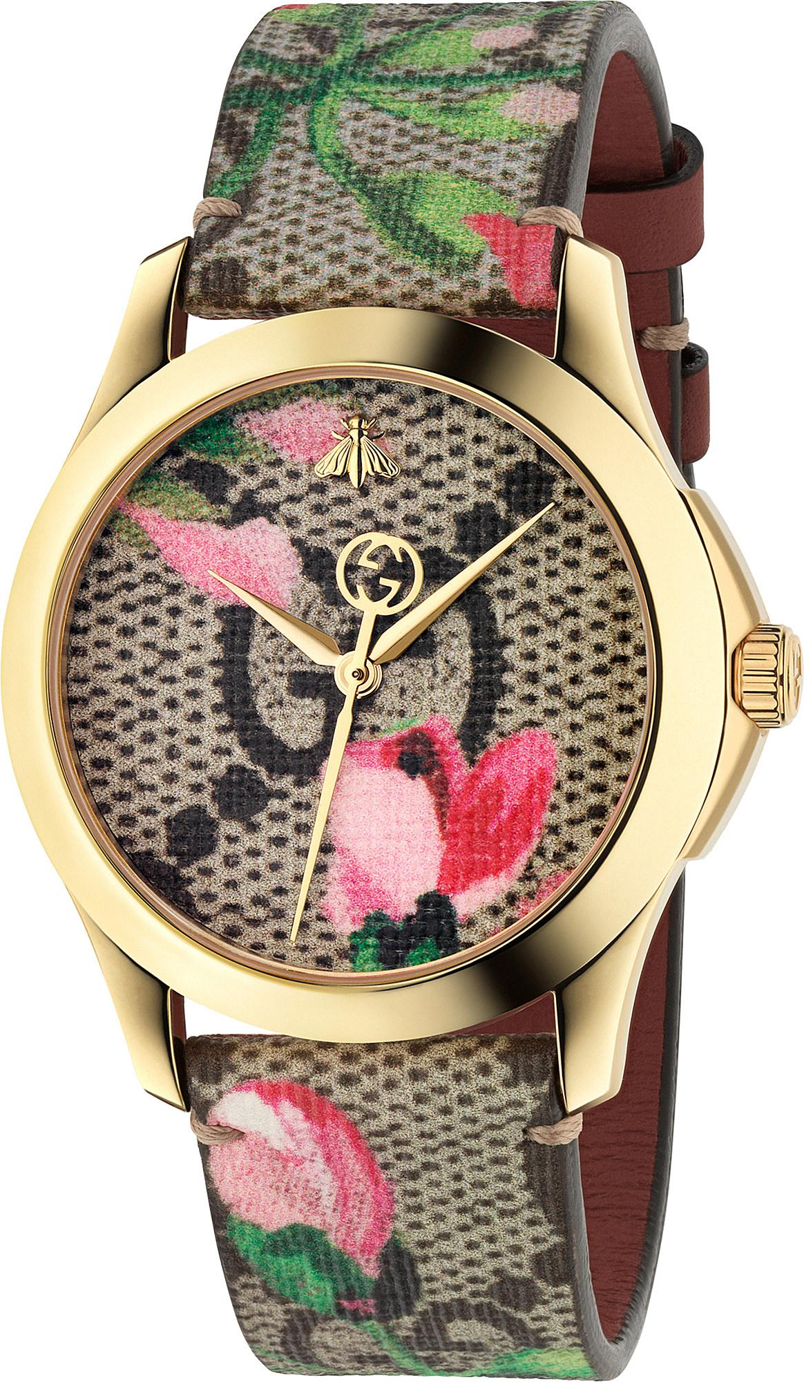 201e9d1ca84 Lyst - Gucci Ya1264038 G-timeless Stainless Steel And Textile Watch ...
