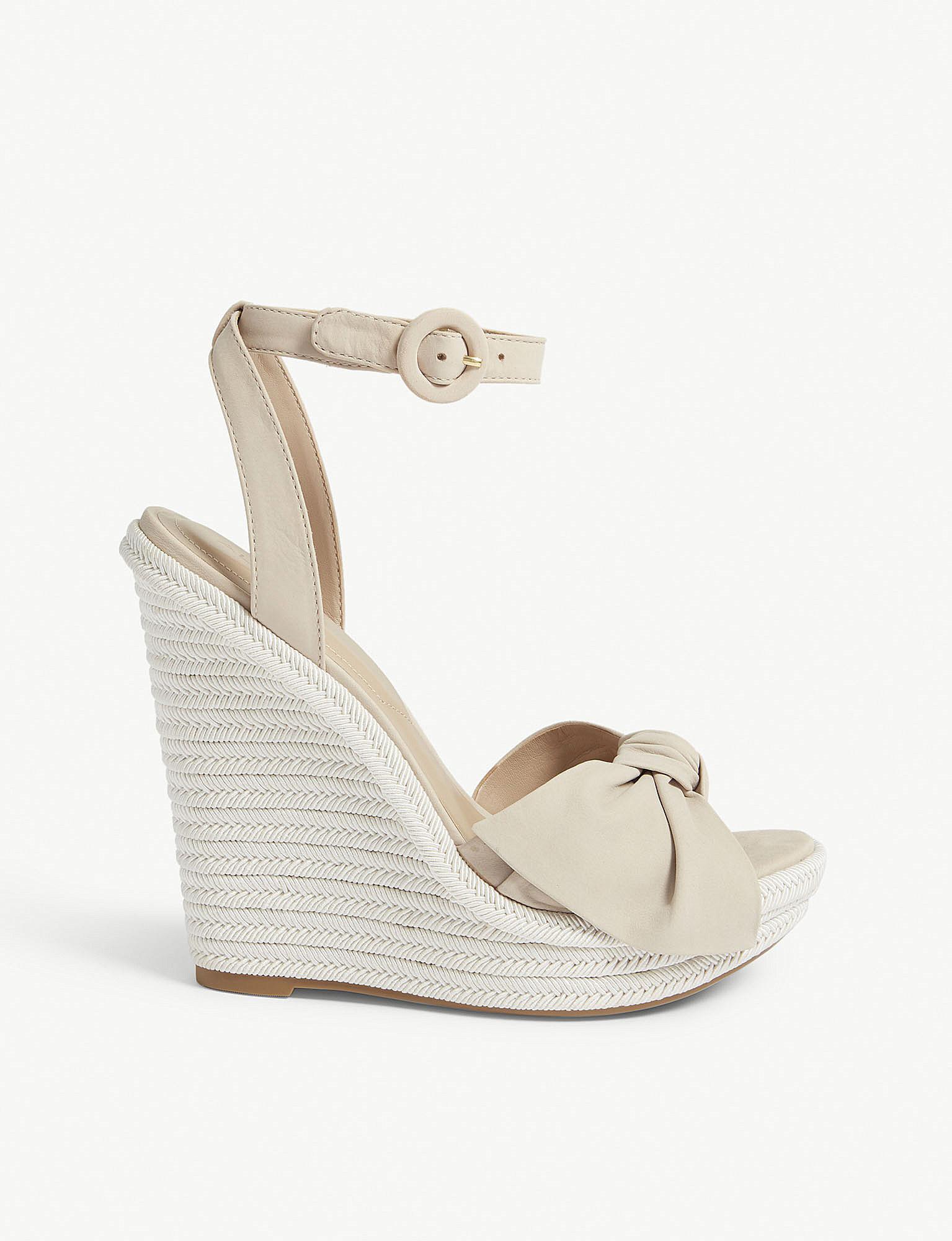 ALDO BESCH - High heeled sandals - white