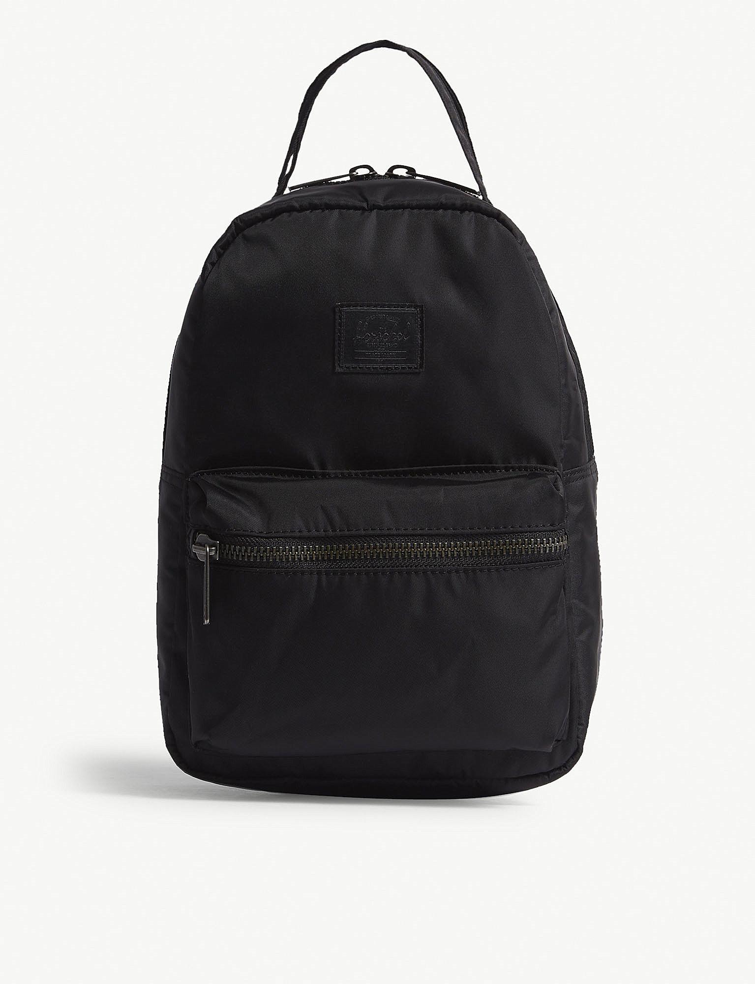 2ac080af9ff8 Herschel Backpack Black Gold Zipper- Fenix Toulouse Handball