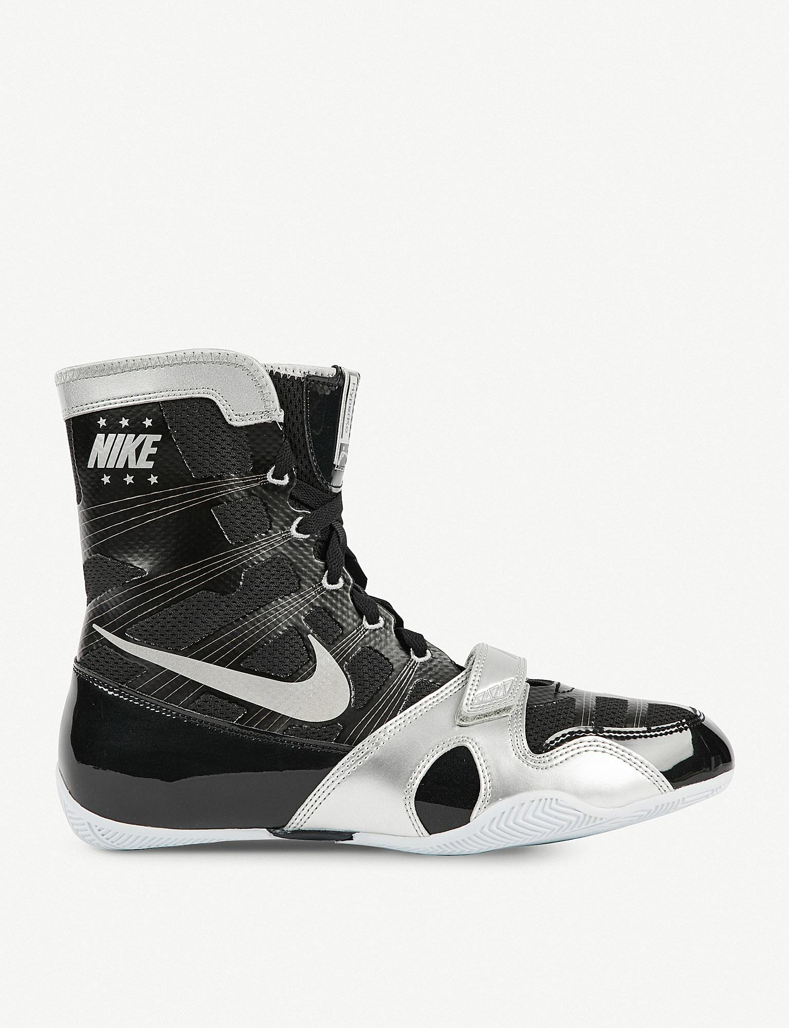 6d92e37fe4a4e Nike Black Lamyland Hyper Ko Mesh Boxing Boots for men