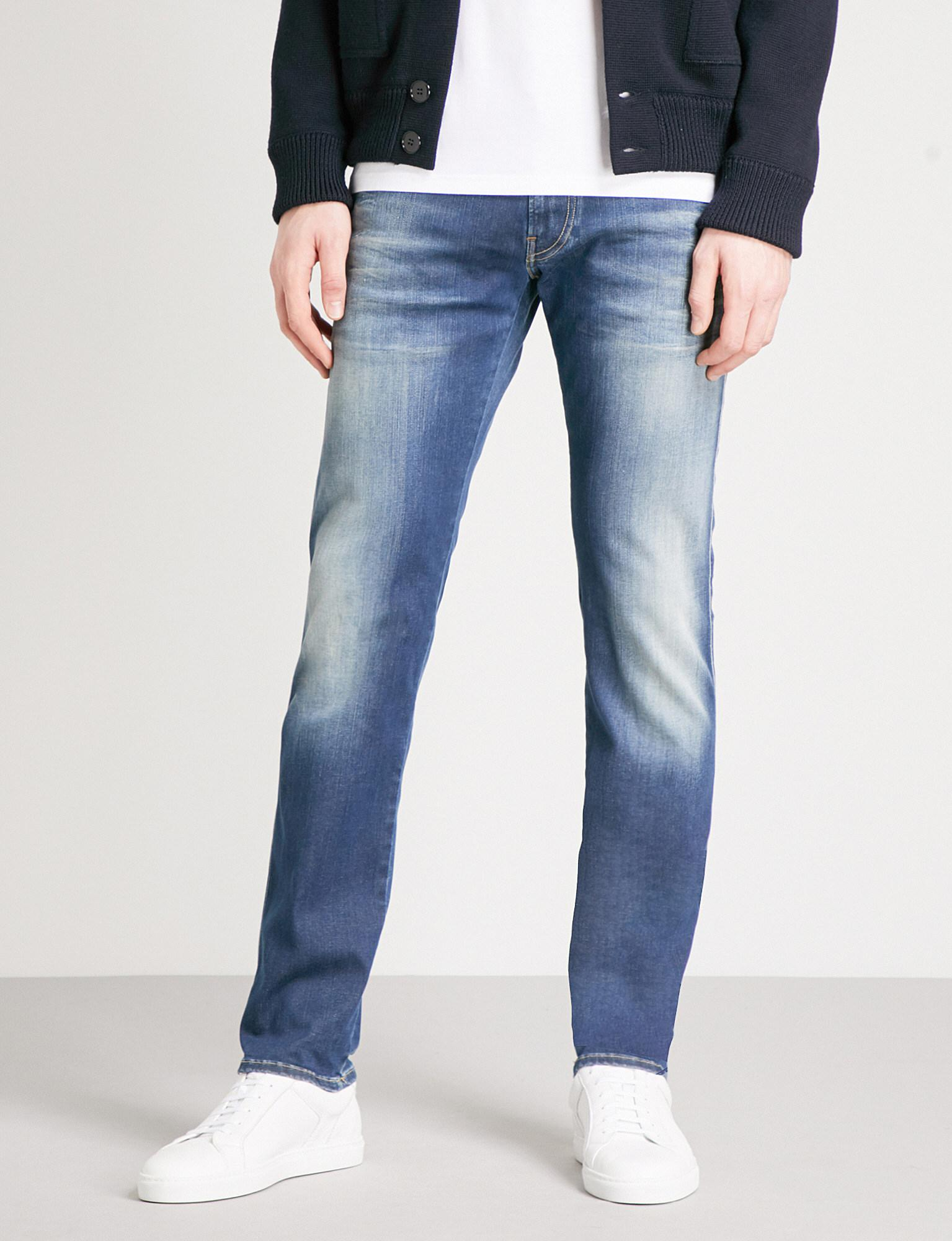 b136646d4f4 Lyst - Replay Anbass Hyperflex Slim-fit Skinny Jeans in Blue for Men