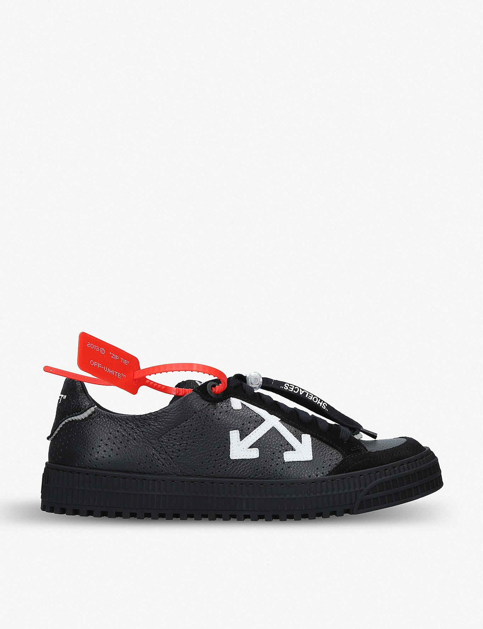 8f17cdae69701 Lyst - Off-White c o Virgil Abloh Polo 3.0 Leather Trainers for Men